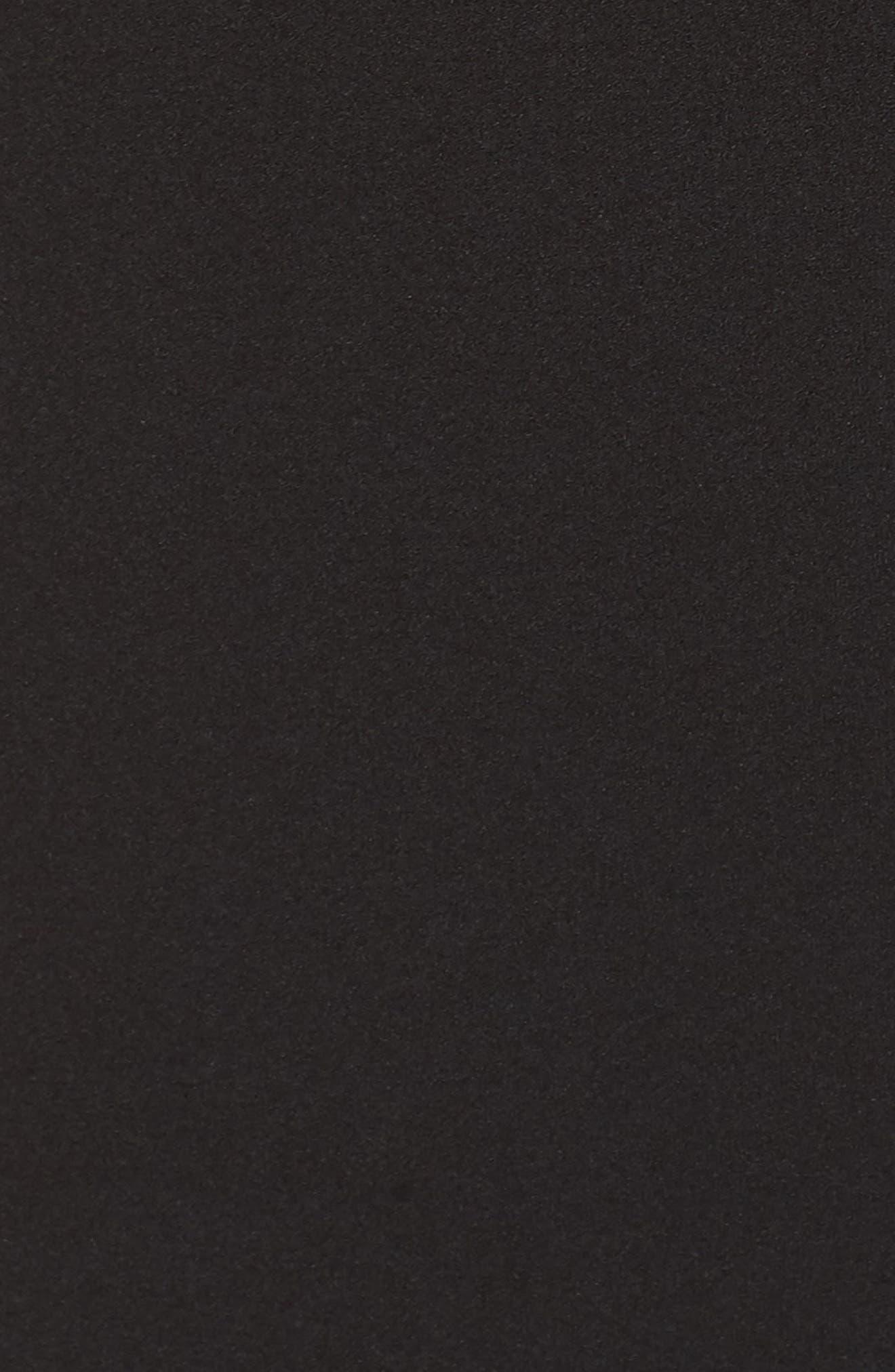 Thrive Racerback Minidress,                             Alternate thumbnail 6, color,                             BLACK