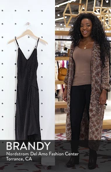 Bay Area Sleeveless Pinstripe Midi Dress, sales video thumbnail