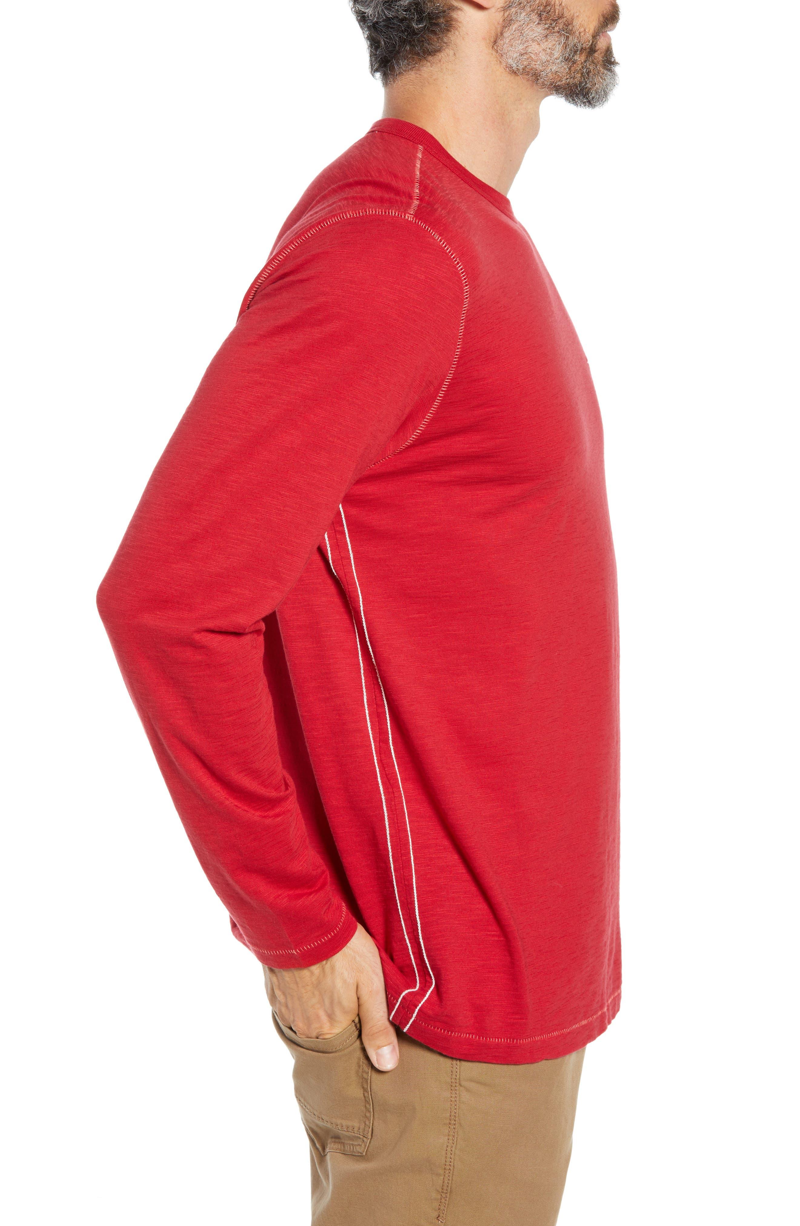 Mele Kalikimaka T-Shirt,                             Alternate thumbnail 3, color,                             SCOOTER RED