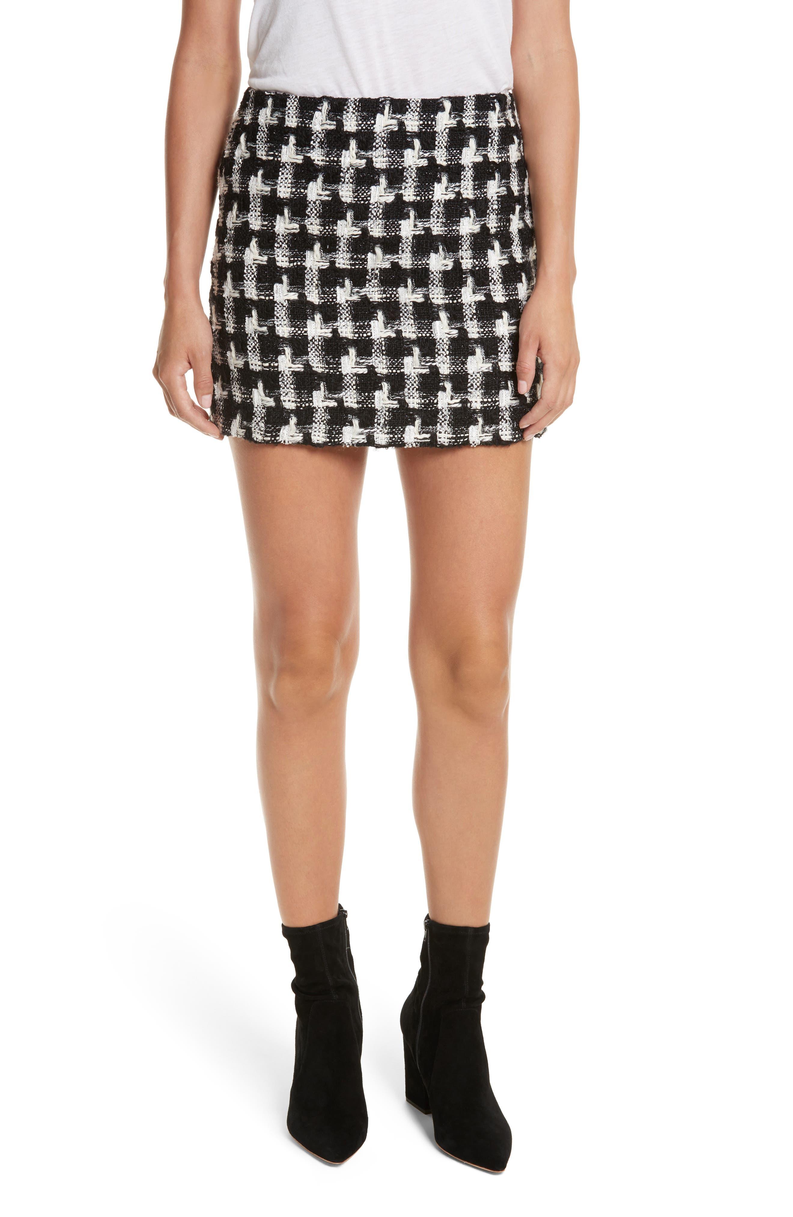 Elana Miniskirt,                             Main thumbnail 1, color,                             009