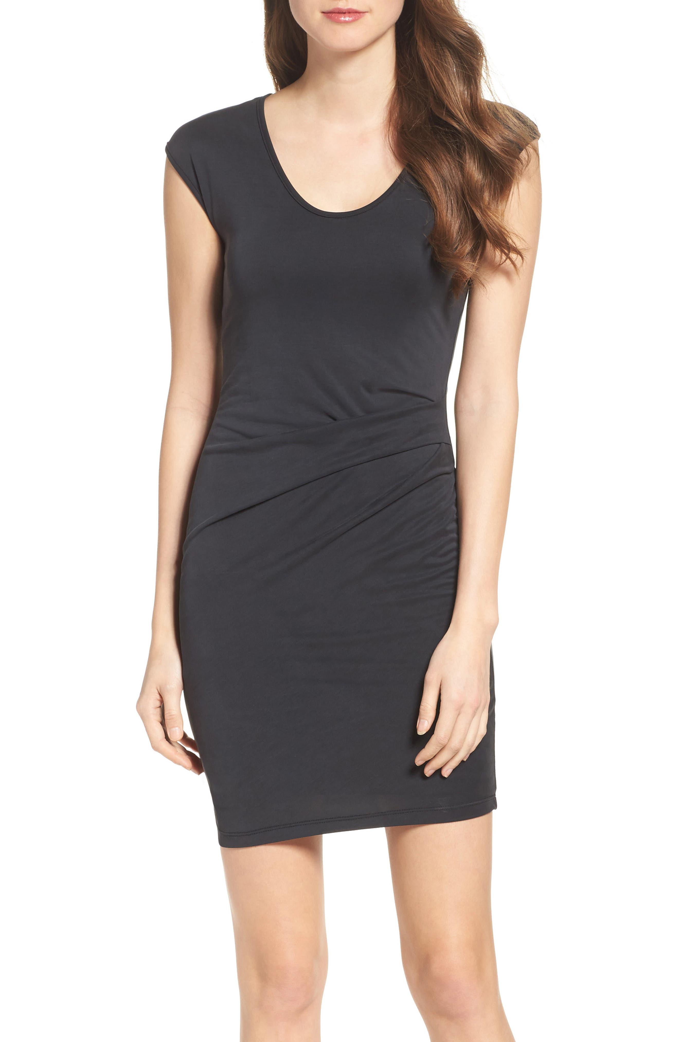 Body-Con Dress,                         Main,                         color, 001