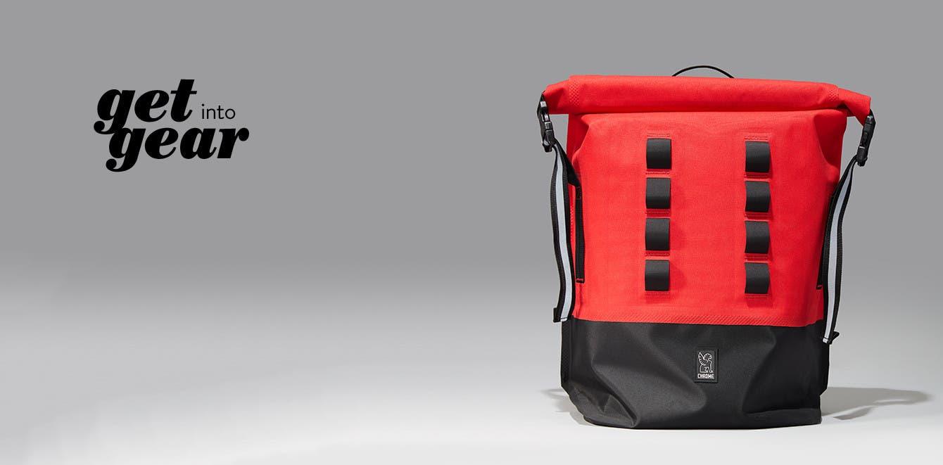 Get into gear, Chrome Urban Ex commuter dry bag.