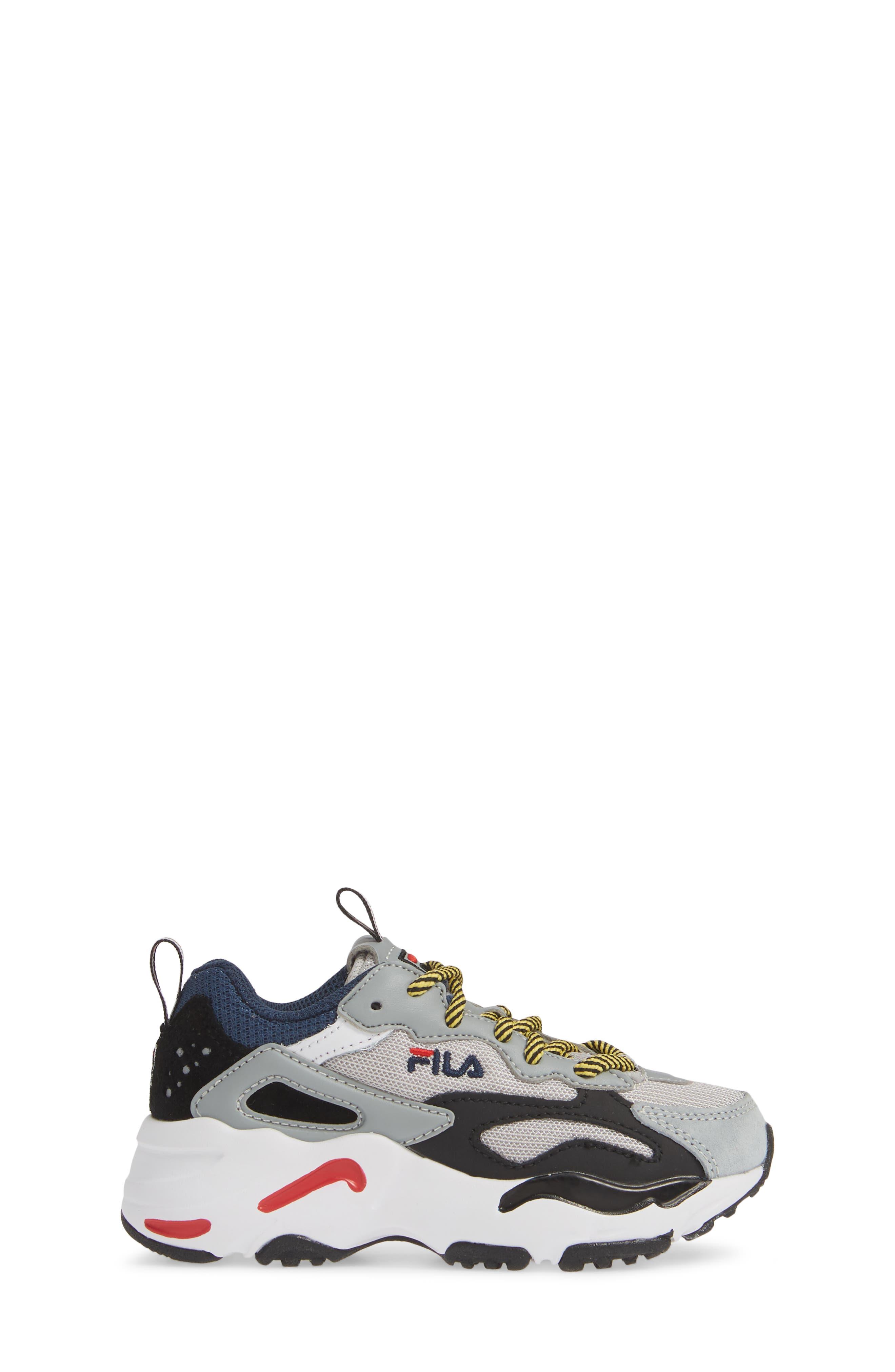 FILA,                             Ray Tracer Sneaker,                             Alternate thumbnail 3, color,                             VAPOR BLUE/ HIGHRISE/ BLACK