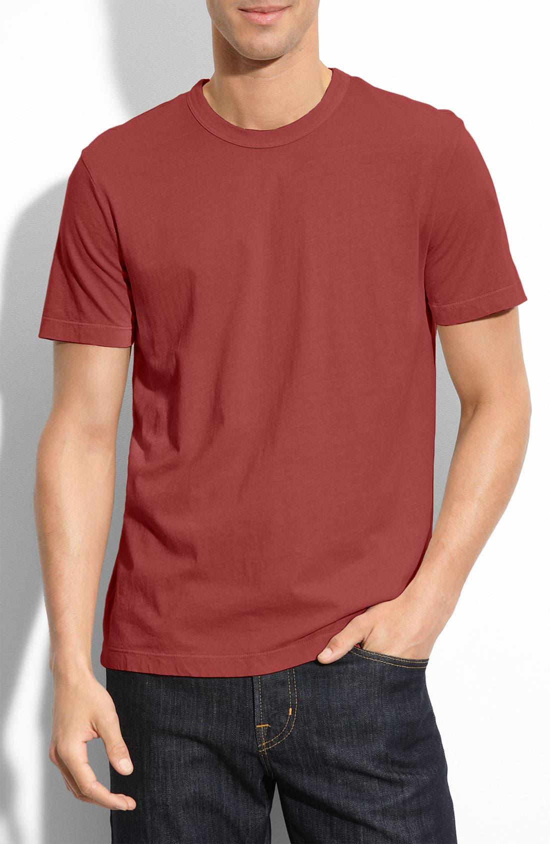 Crewneck Jersey T-Shirt,                             Main thumbnail 110, color,