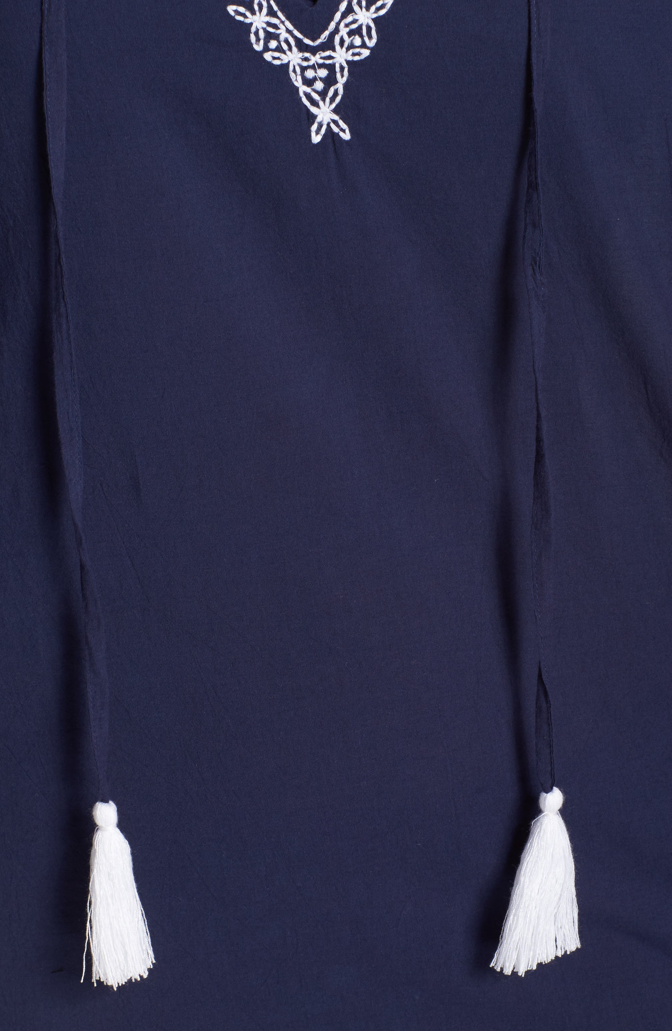 Voile Cover-Up Tunic,                             Alternate thumbnail 5, color,                             400