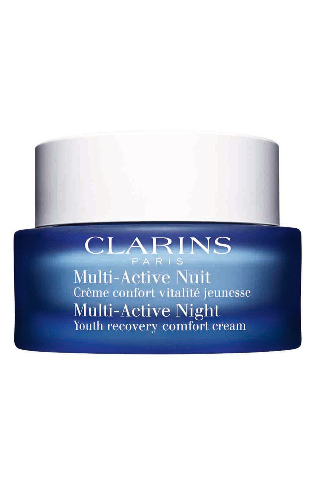 'Multi-Active' Night Youth Recovery Comfort Cream,                         Main,                         color,