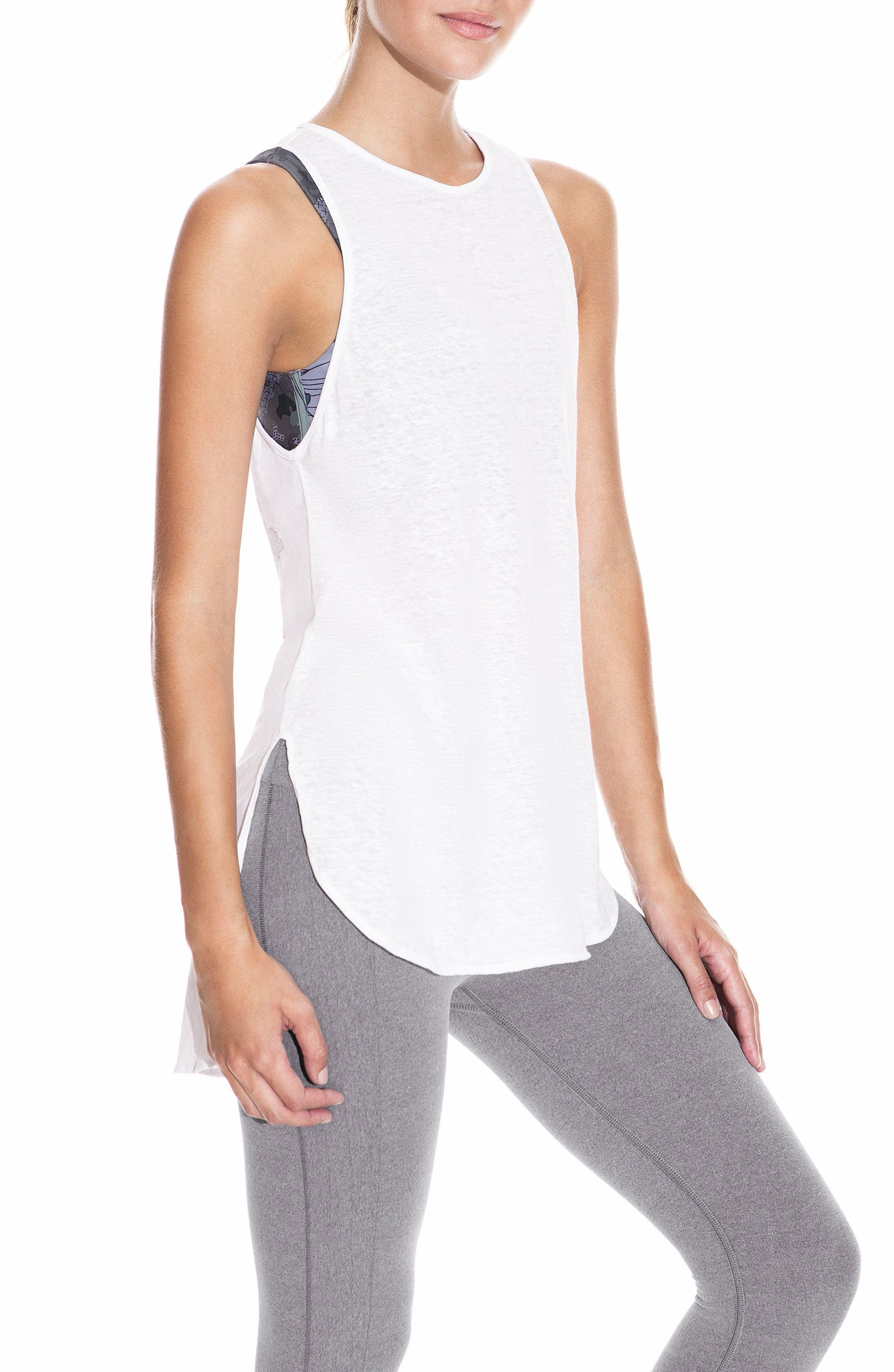 Scent Blossom High/Low Tank,                         Main,                         color, 100