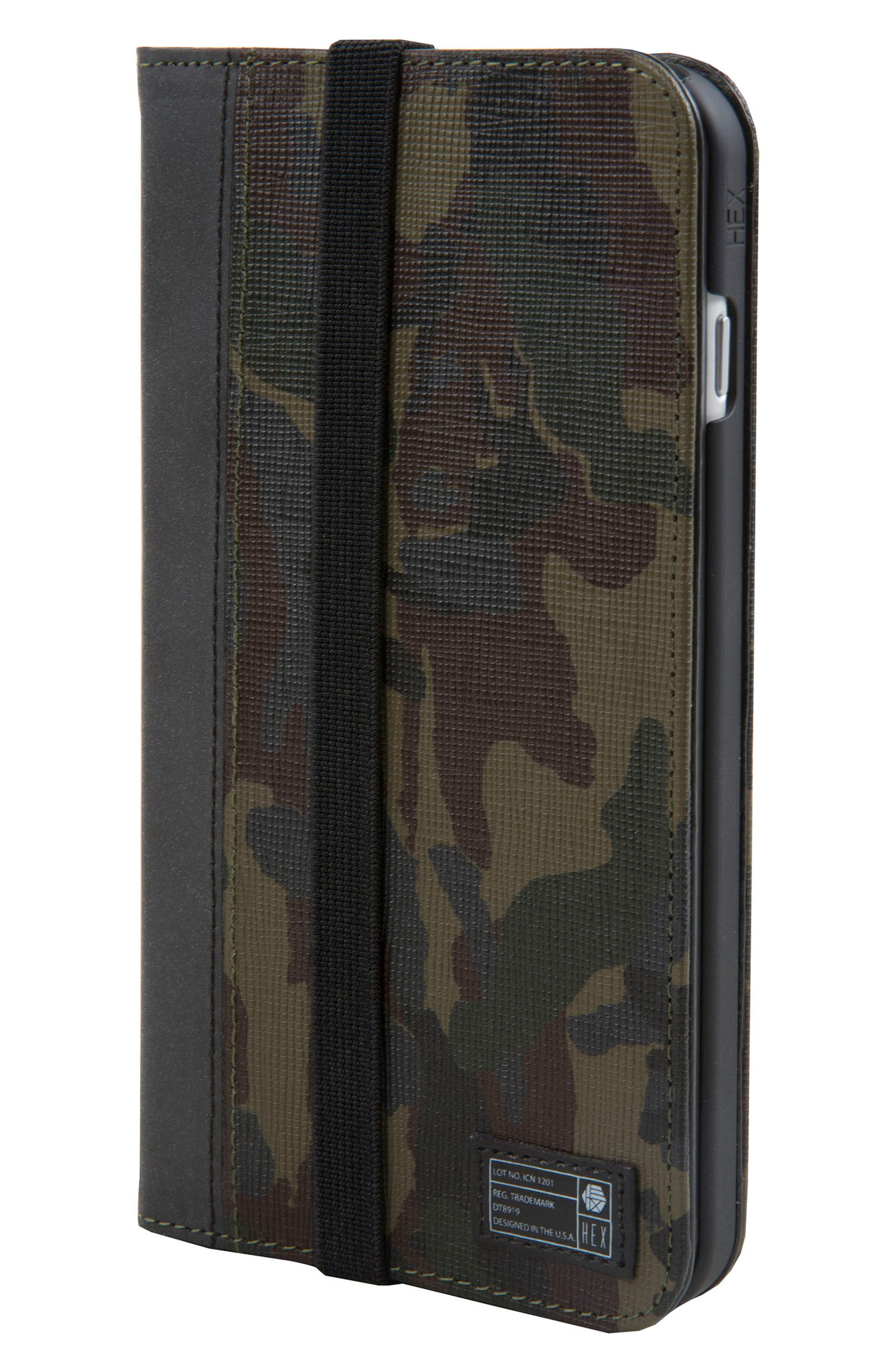 Icon iPhone 6/6s/7/8 Plus Wallet Case,                         Main,                         color, 345