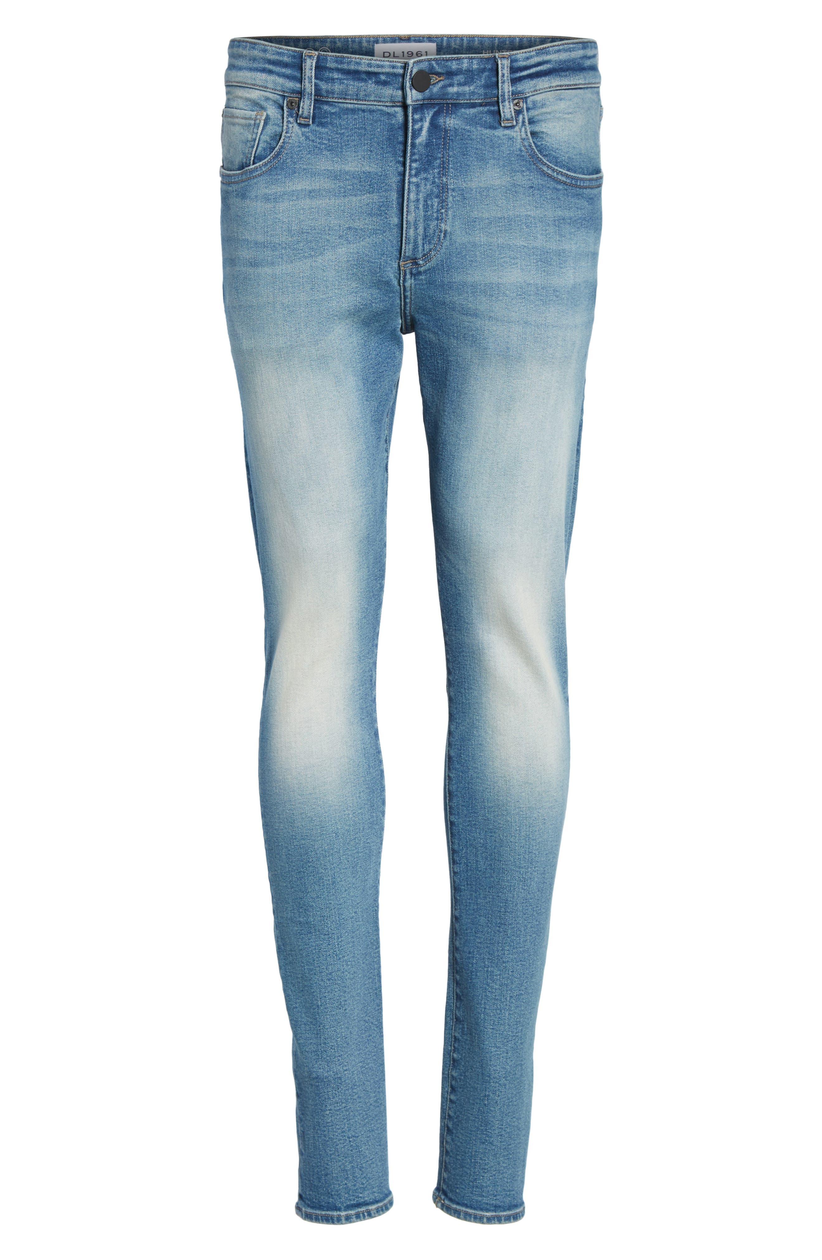 Hunter Skinny Jeans,                             Alternate thumbnail 6, color,                             HALT 2