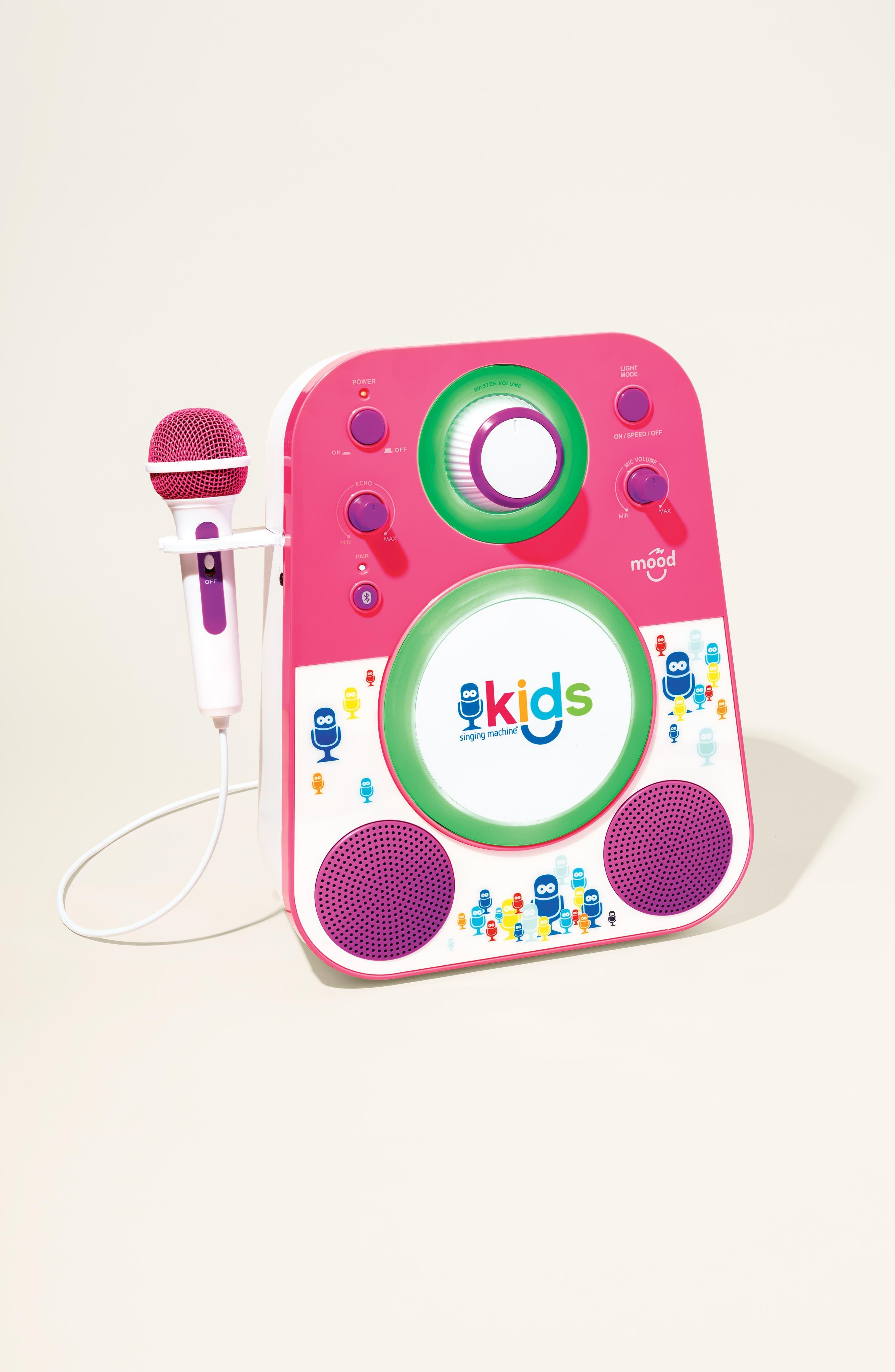 Kids Mood Karaoke System,                             Alternate thumbnail 9, color,                             BLUE GREEN