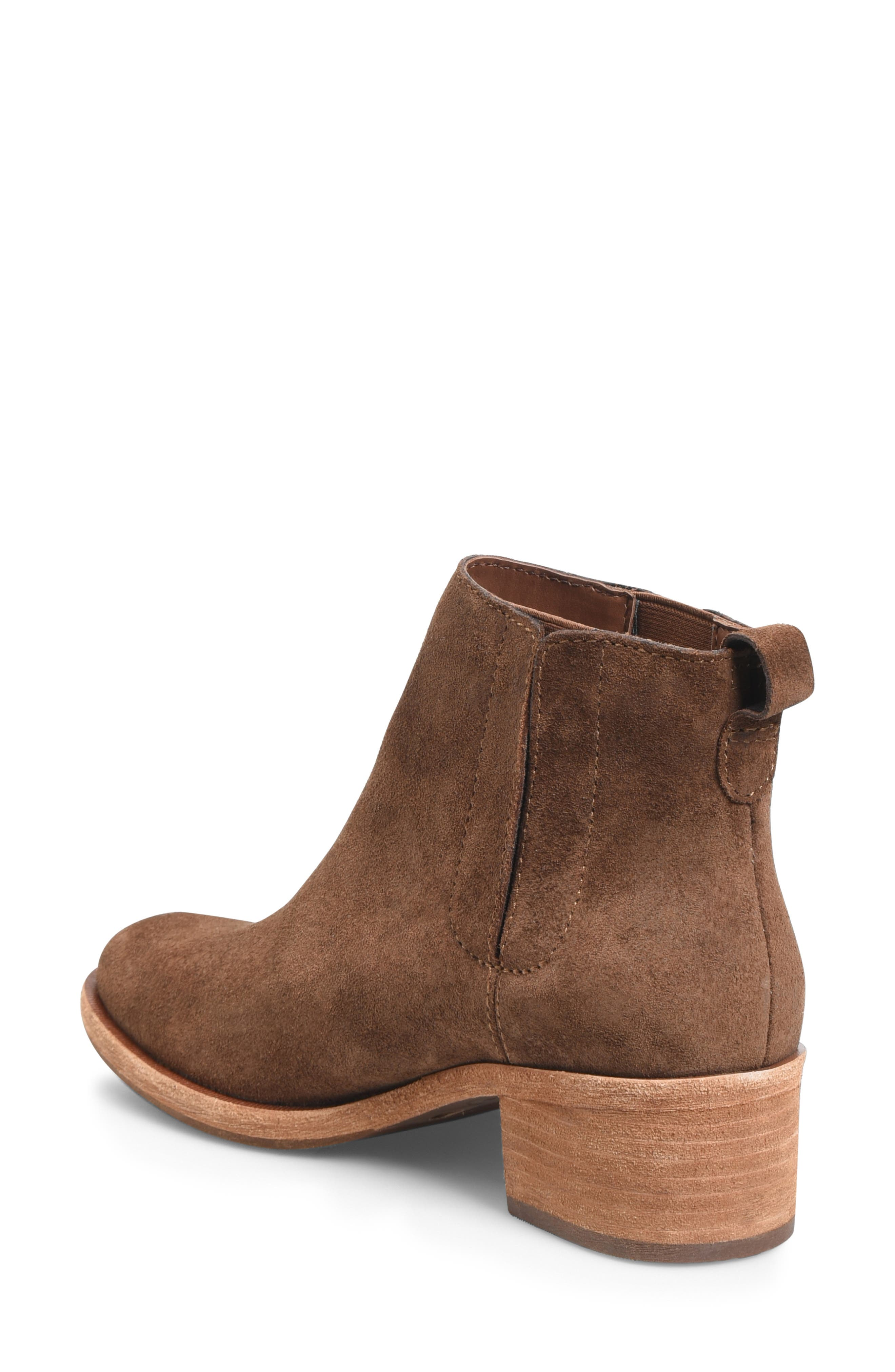 Mindo Chelsea Bootie,                             Alternate thumbnail 2, color,                             BROWN SUEDE