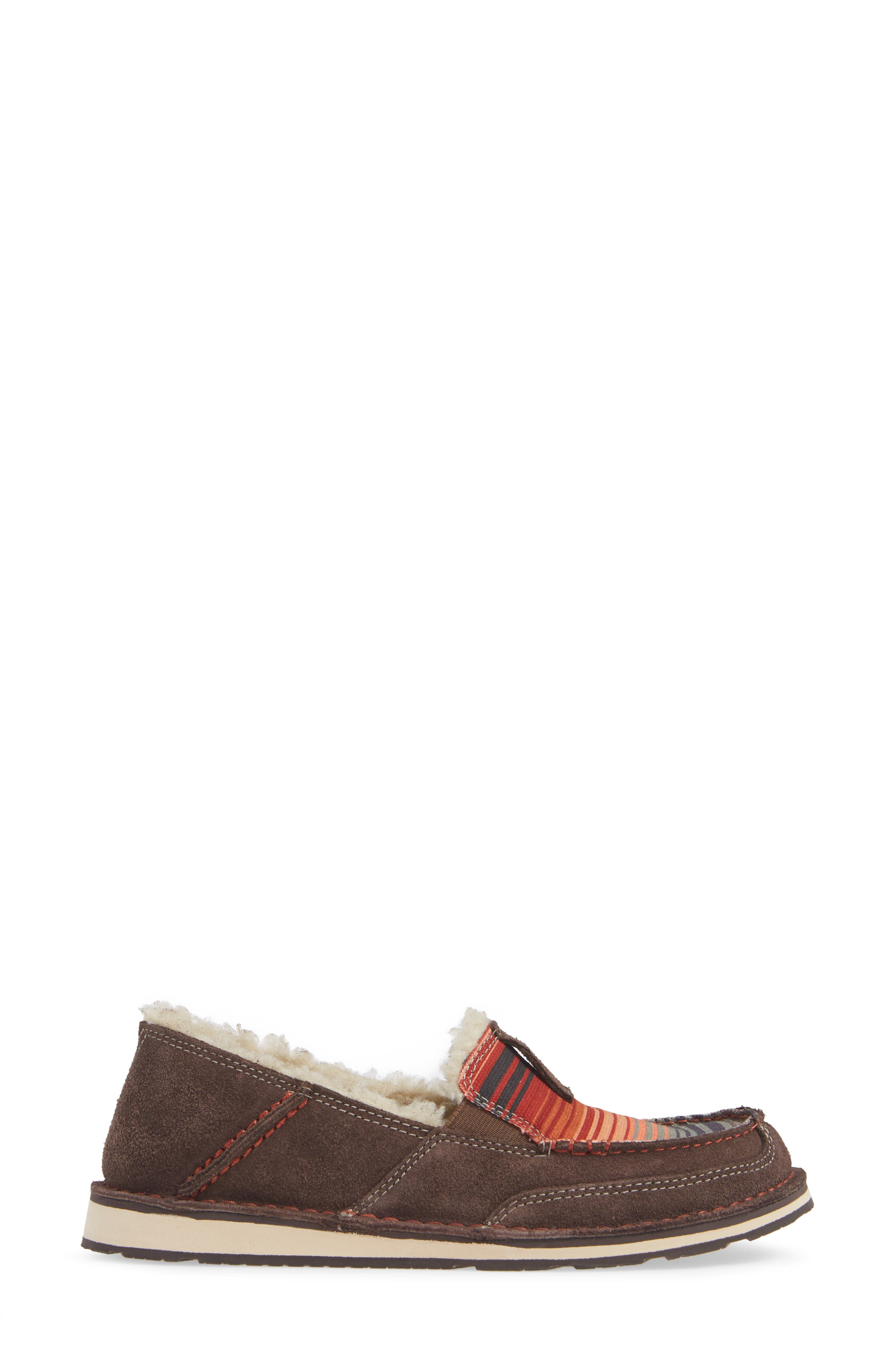 ARIAT,                             Cruiser Slip-On Loafer,                             Alternate thumbnail 3, color,                             SOUTHWESTERN FABRIC