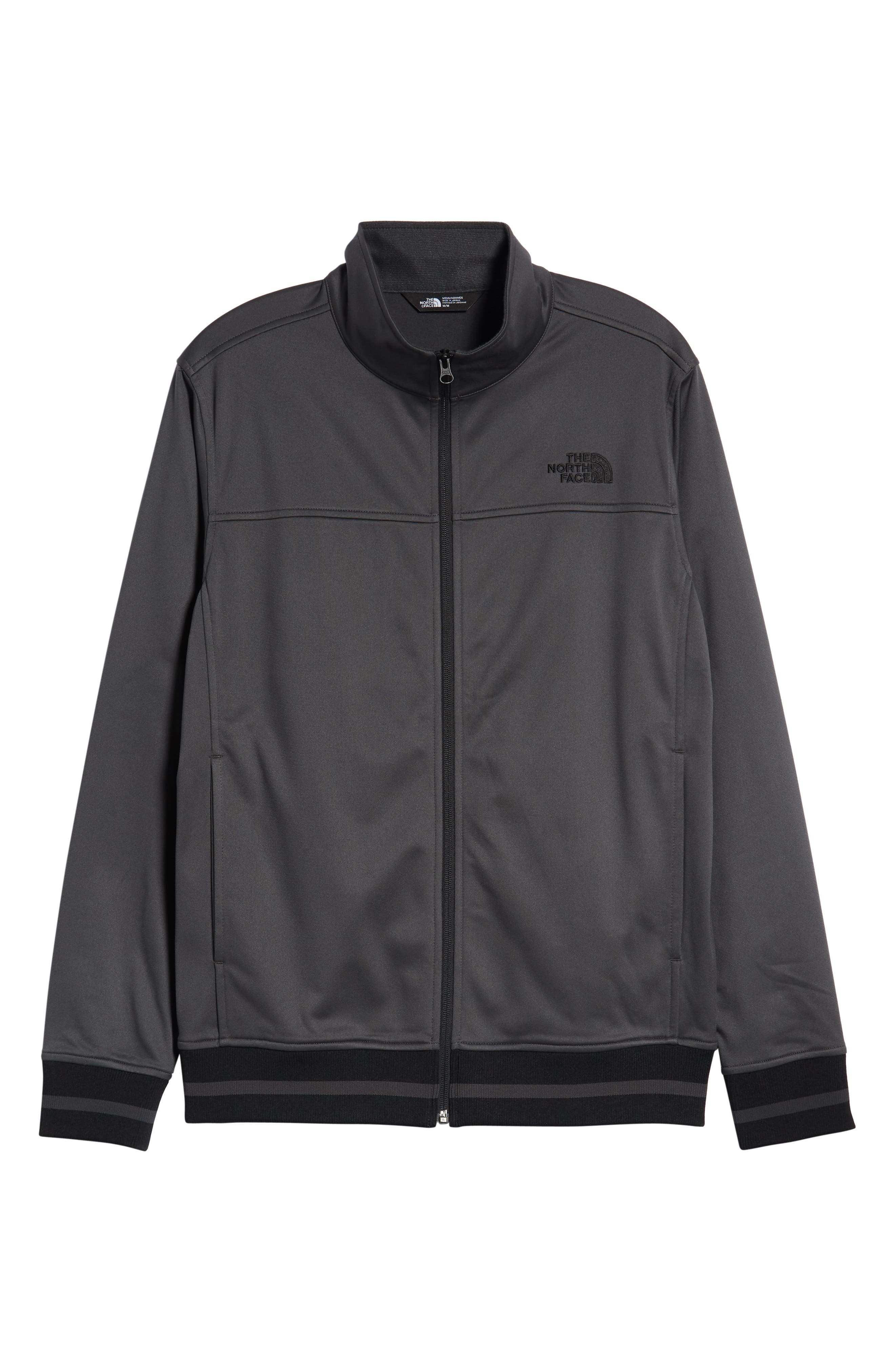 Alphabet City Track Jacket,                             Alternate thumbnail 6, color,                             ASPHALT GREY