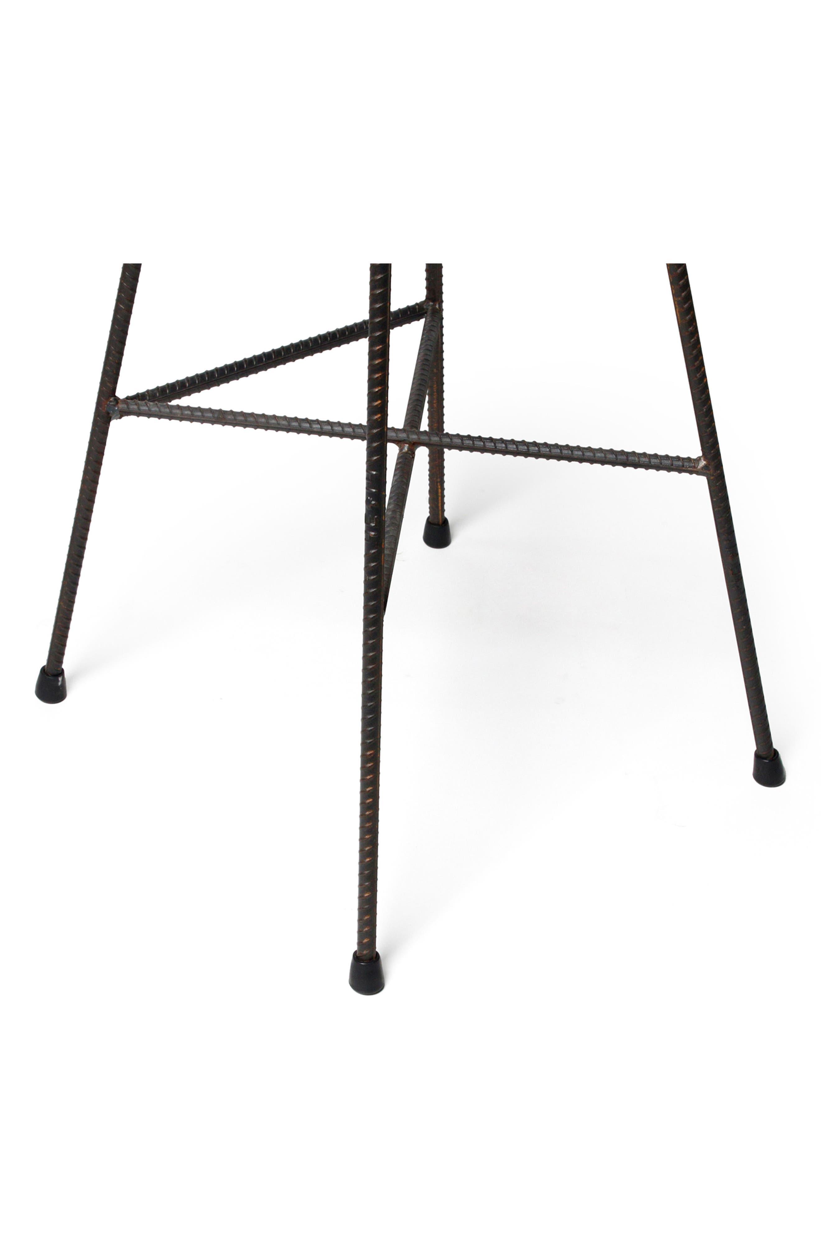 Lyon Béton Hauteville Bar Chair,                             Alternate thumbnail 2, color,                             CEMENT