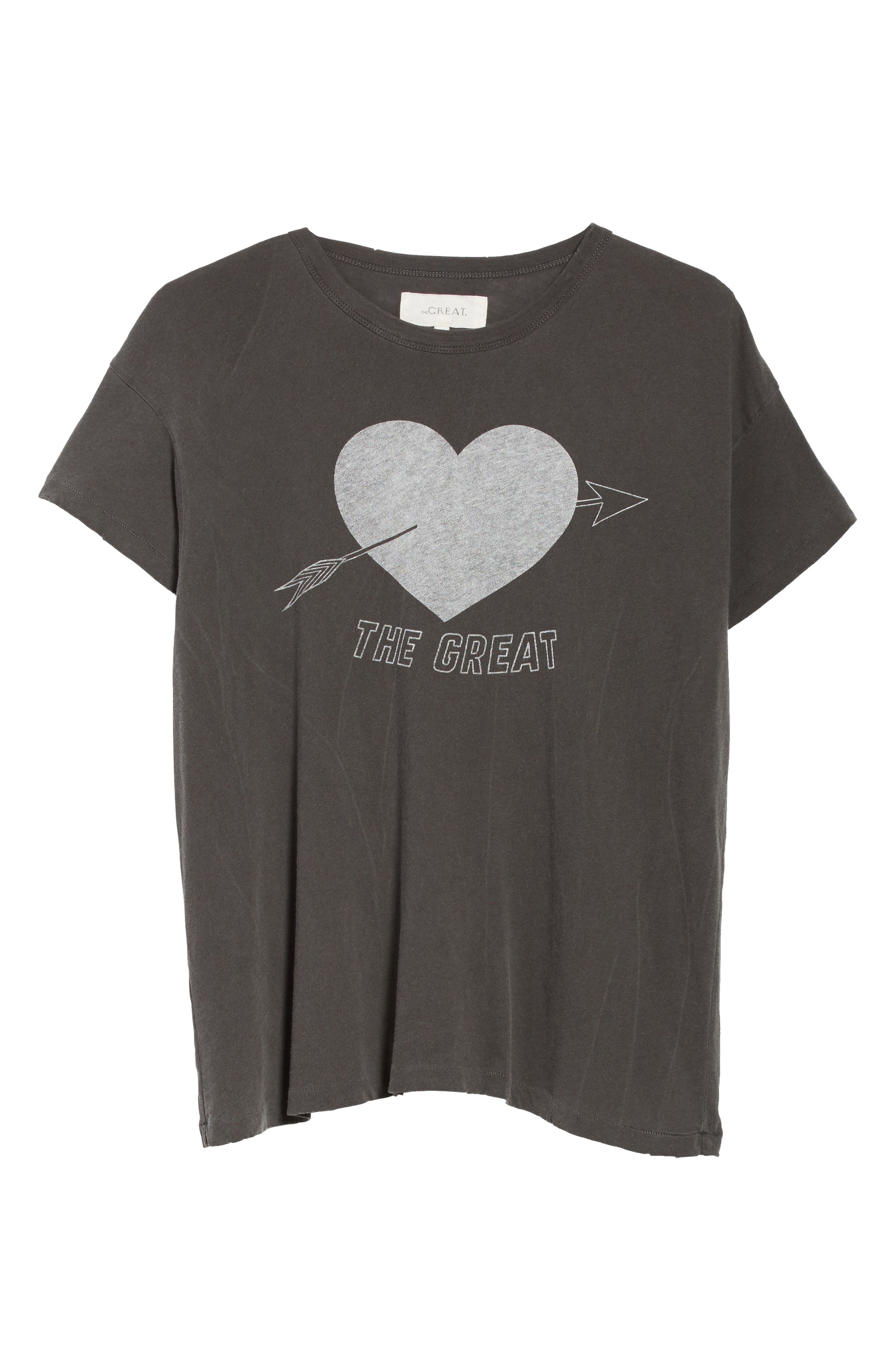 The Boxy Graphic Tee,                             Alternate thumbnail 17, color,