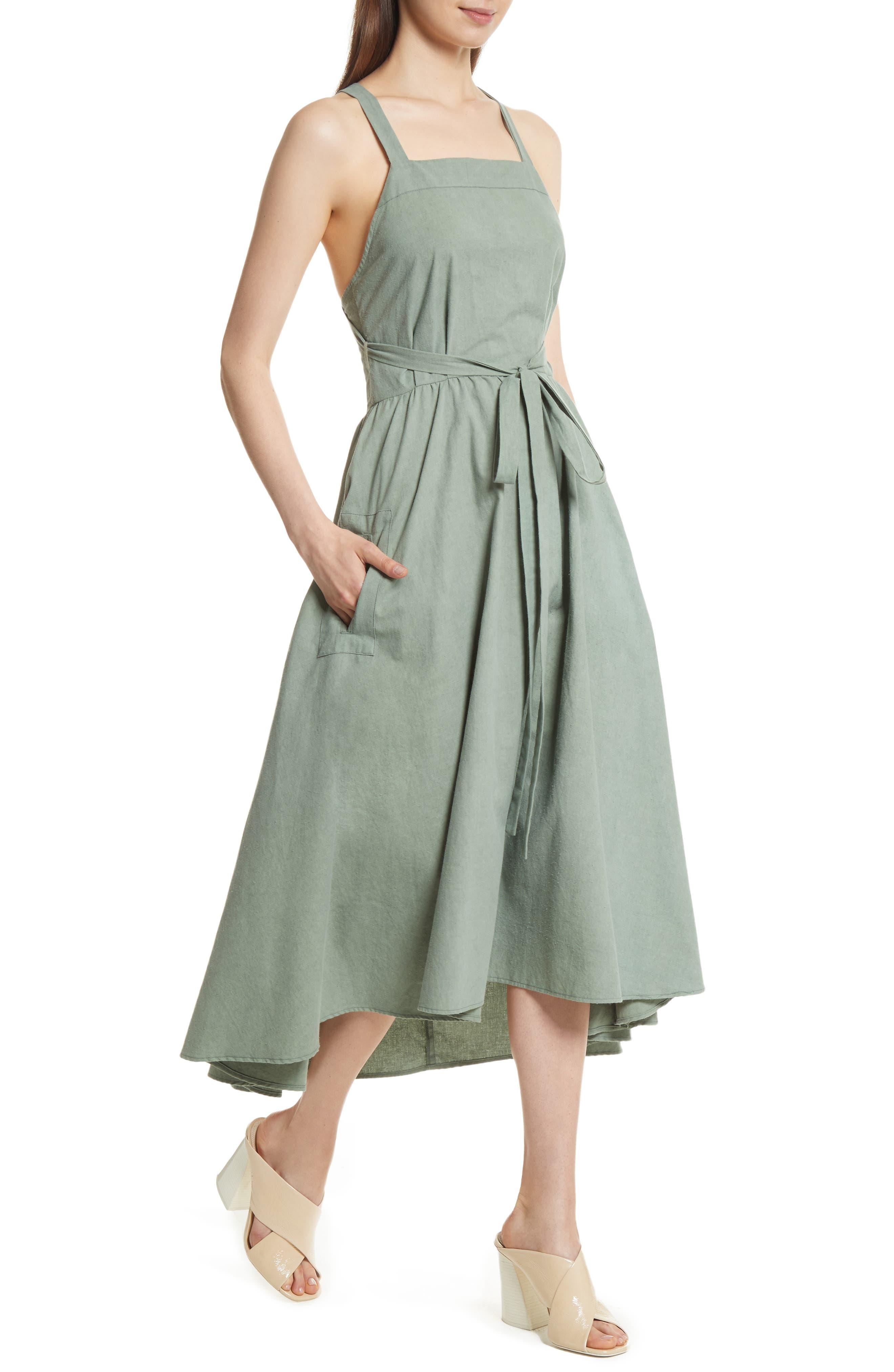 The Apron Dress,                             Alternate thumbnail 4, color,                             300