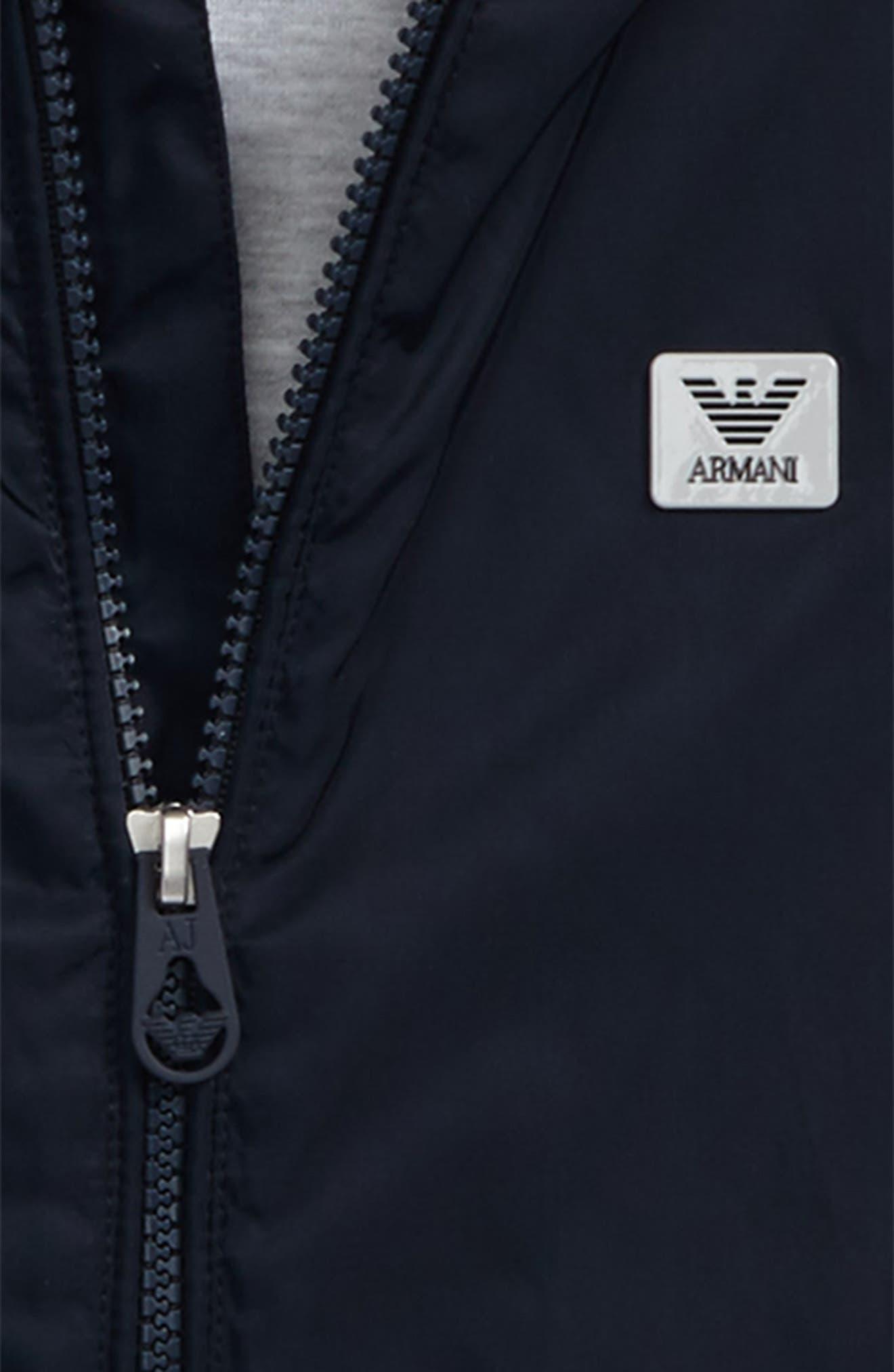 Logo Hooded Jacket,                             Alternate thumbnail 3, color,                             424