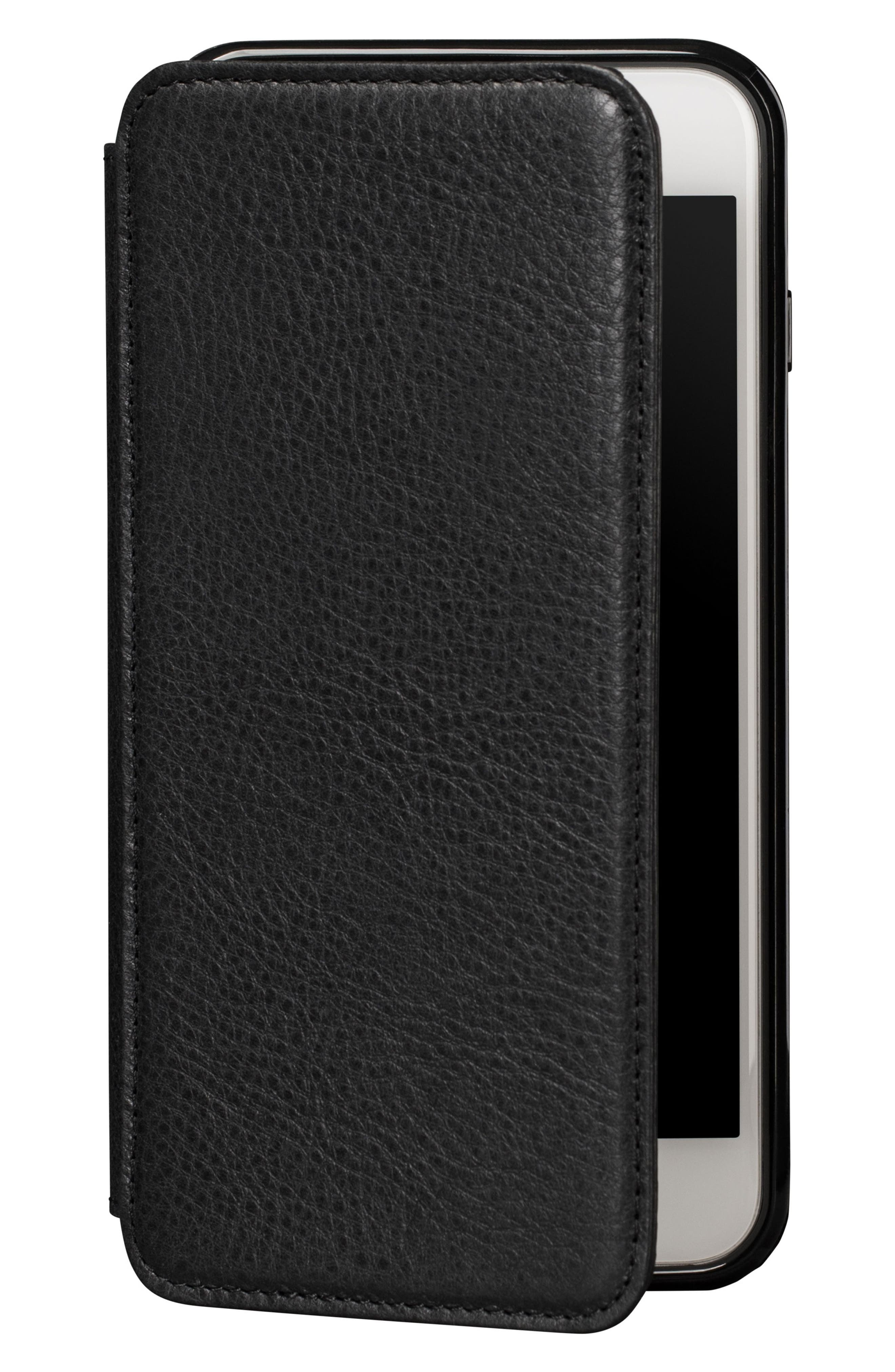 Bence iPhone 7/8 Plus Walletbook,                         Main,                         color, BLACK