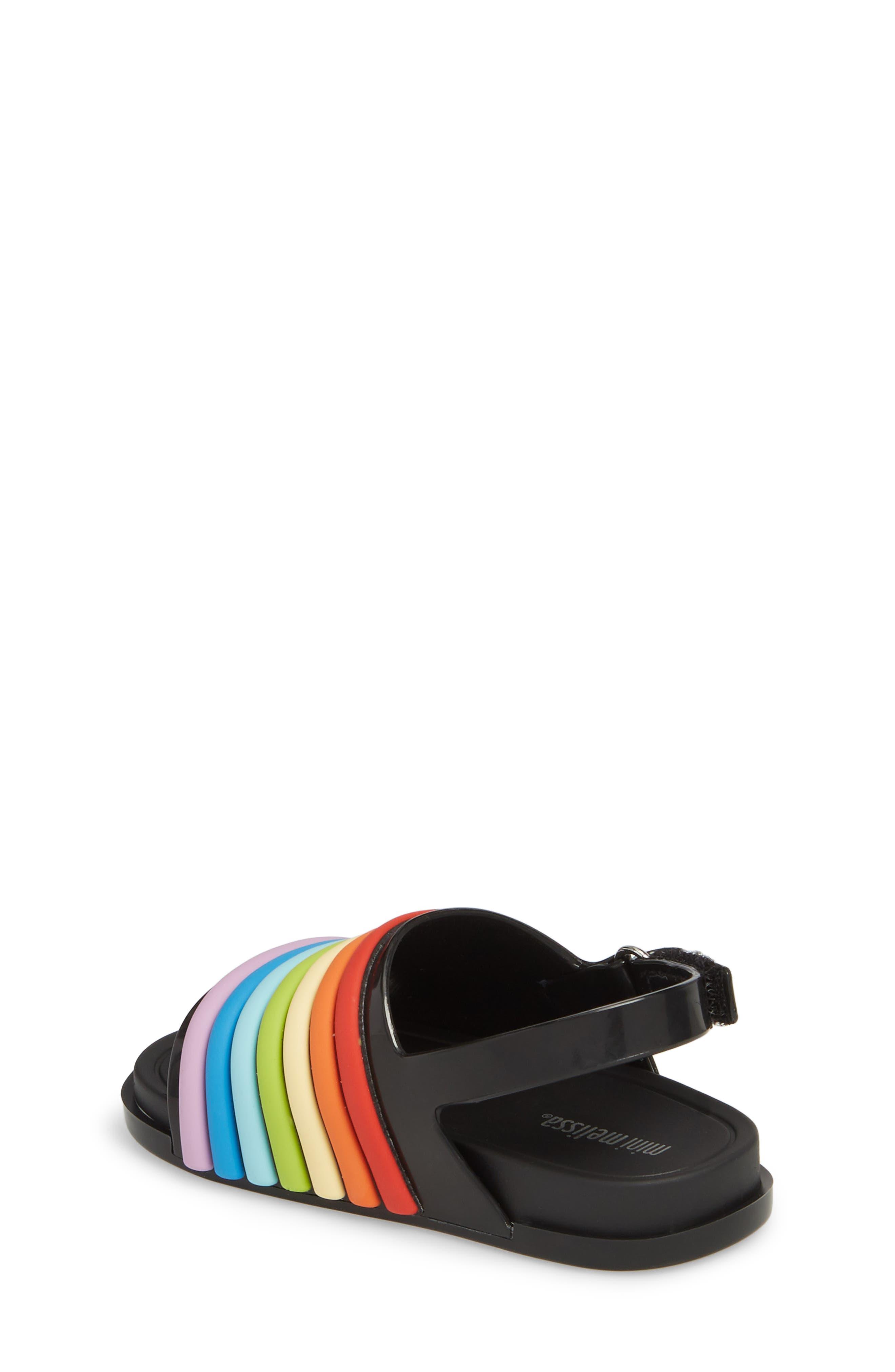 Rainbow Beach Sandal,                             Alternate thumbnail 6, color,