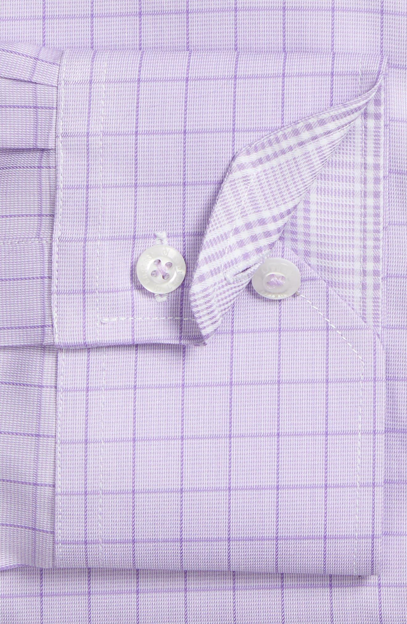 Trim Fit Check Dress Shirt,                             Alternate thumbnail 2, color,                             540