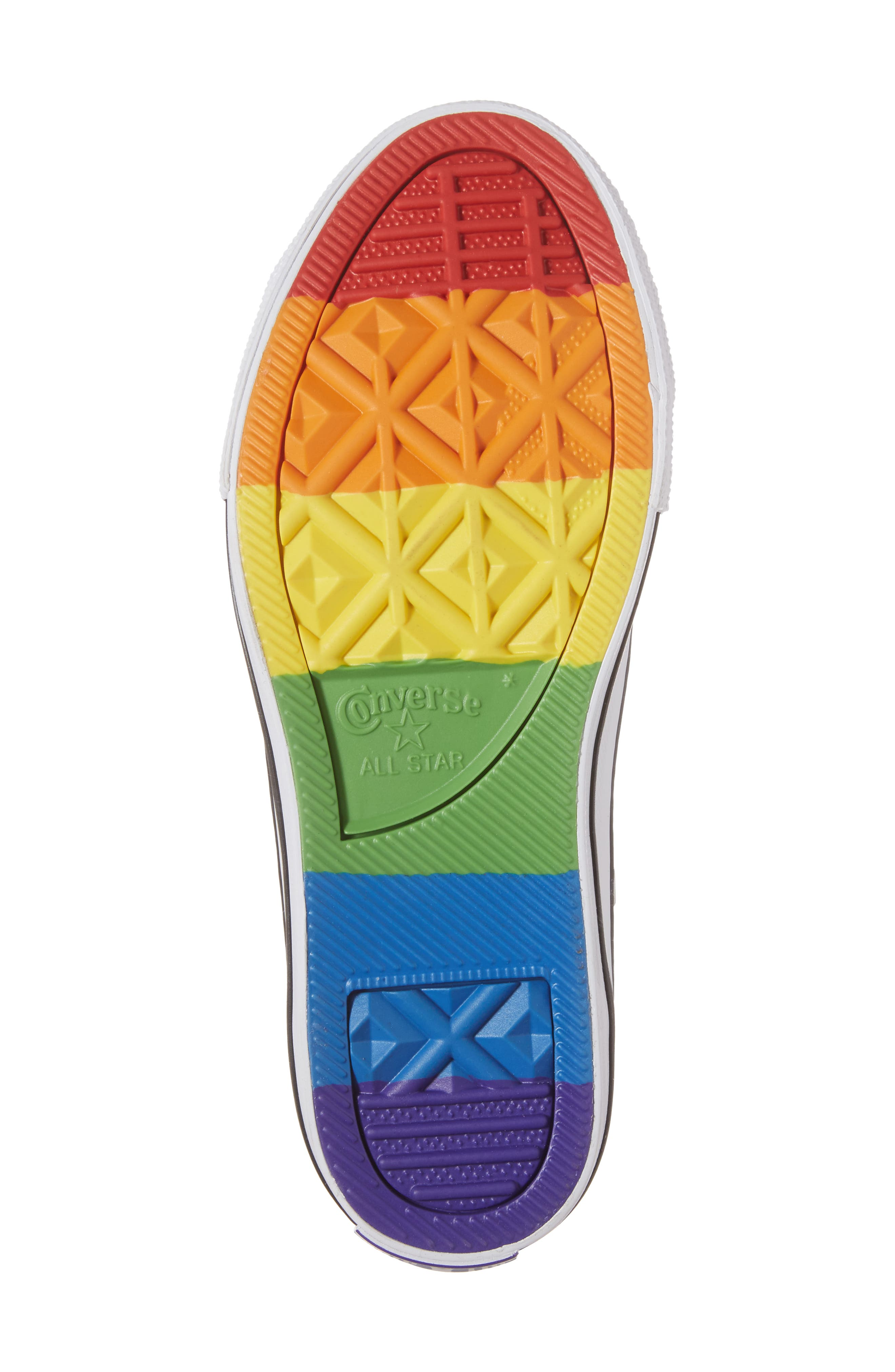 Chuck Taylor<sup>®</sup> All Star<sup>®</sup> Pride High Top Sneaker,                             Alternate thumbnail 6, color,                             400
