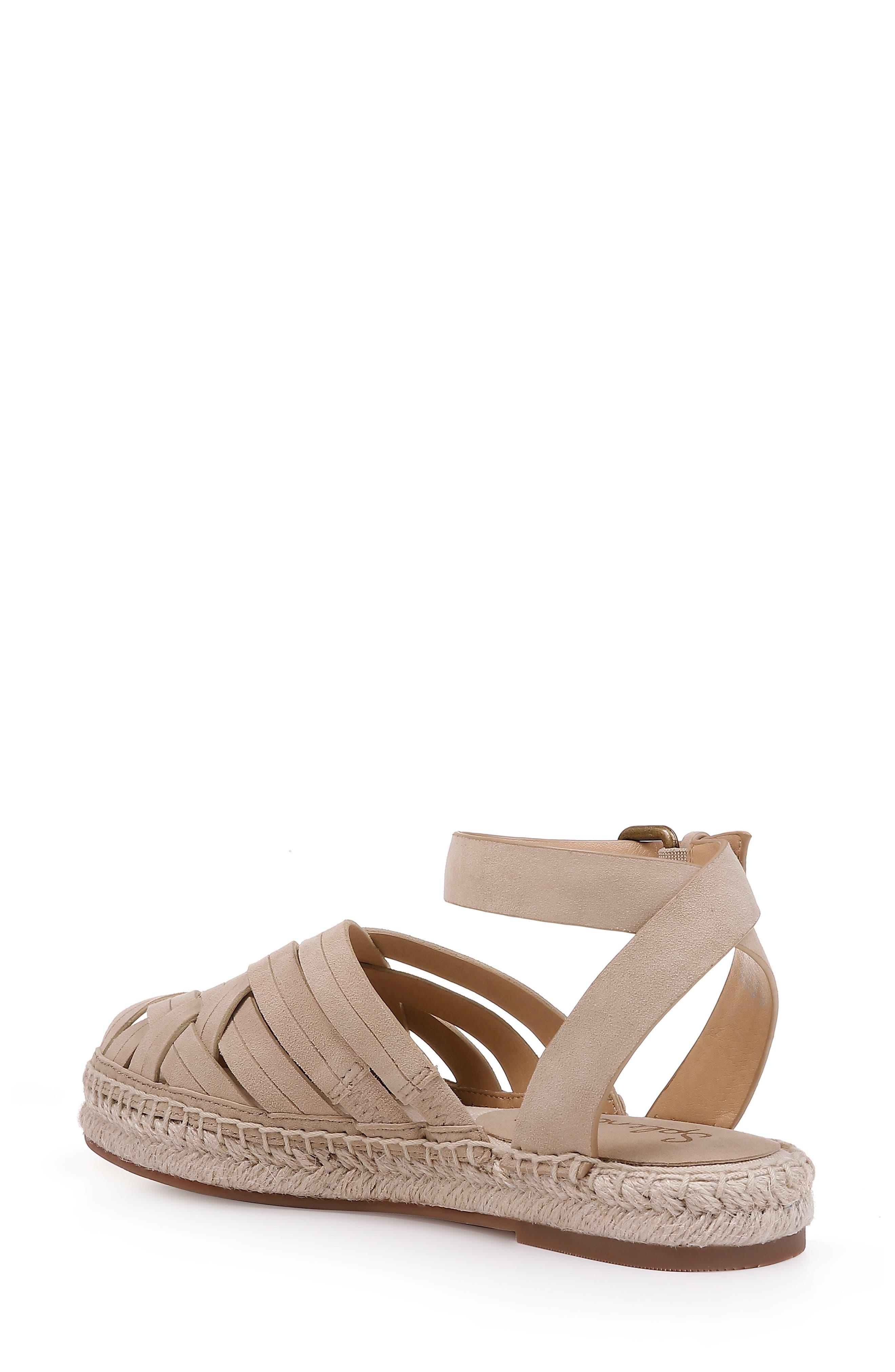 Sheryl Espadrille Ankle Strap Sandal,                             Alternate thumbnail 2, color,                             MUSHROOM SUEDE