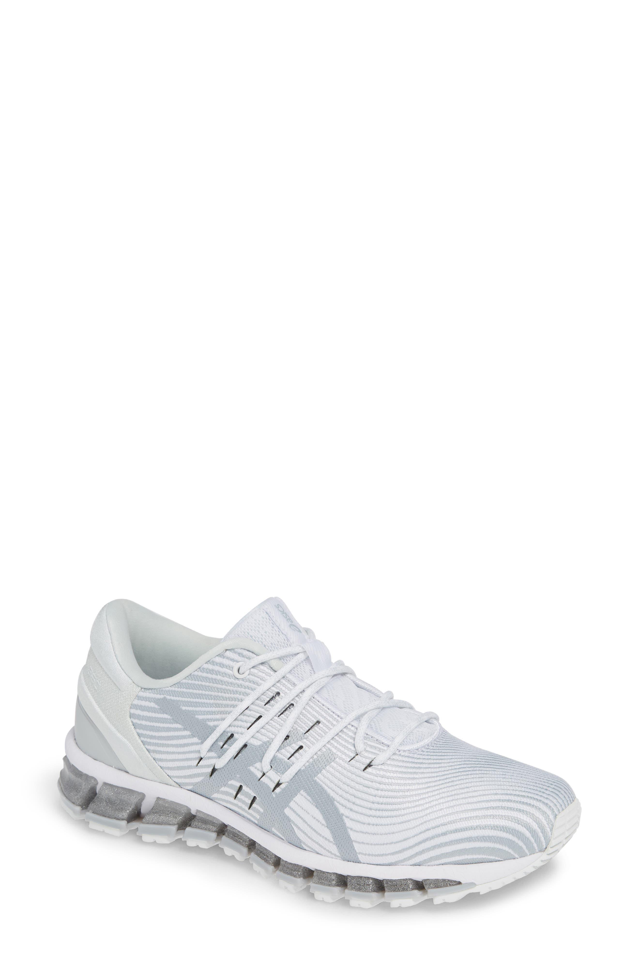 Asics Gel Quantum 360 4 Running Shoe B - White