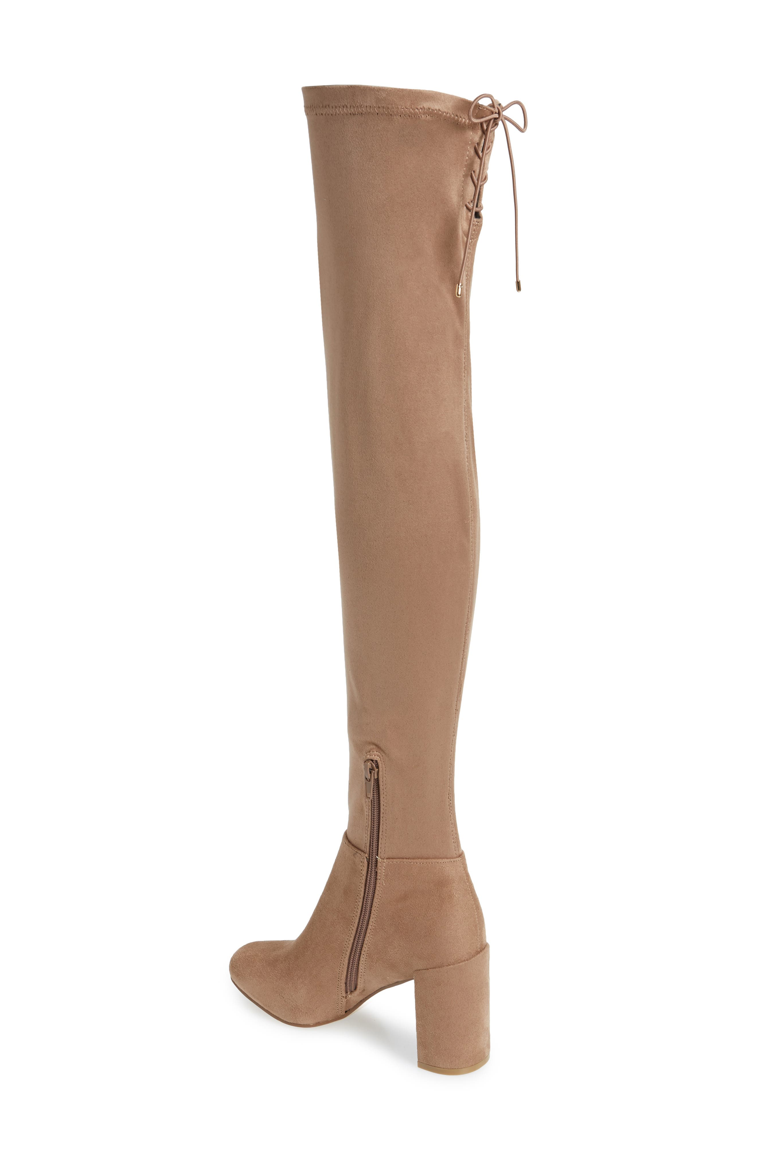 King Over the Knee Boot,                             Alternate thumbnail 2, color,                             MINK