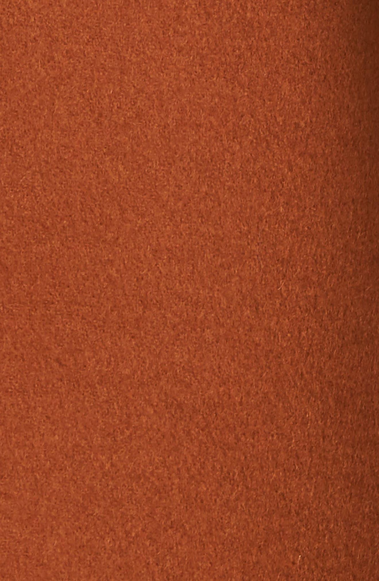 Ellie Notch Wool & Cashmere Duster Coat,                             Alternate thumbnail 6, color,                             200