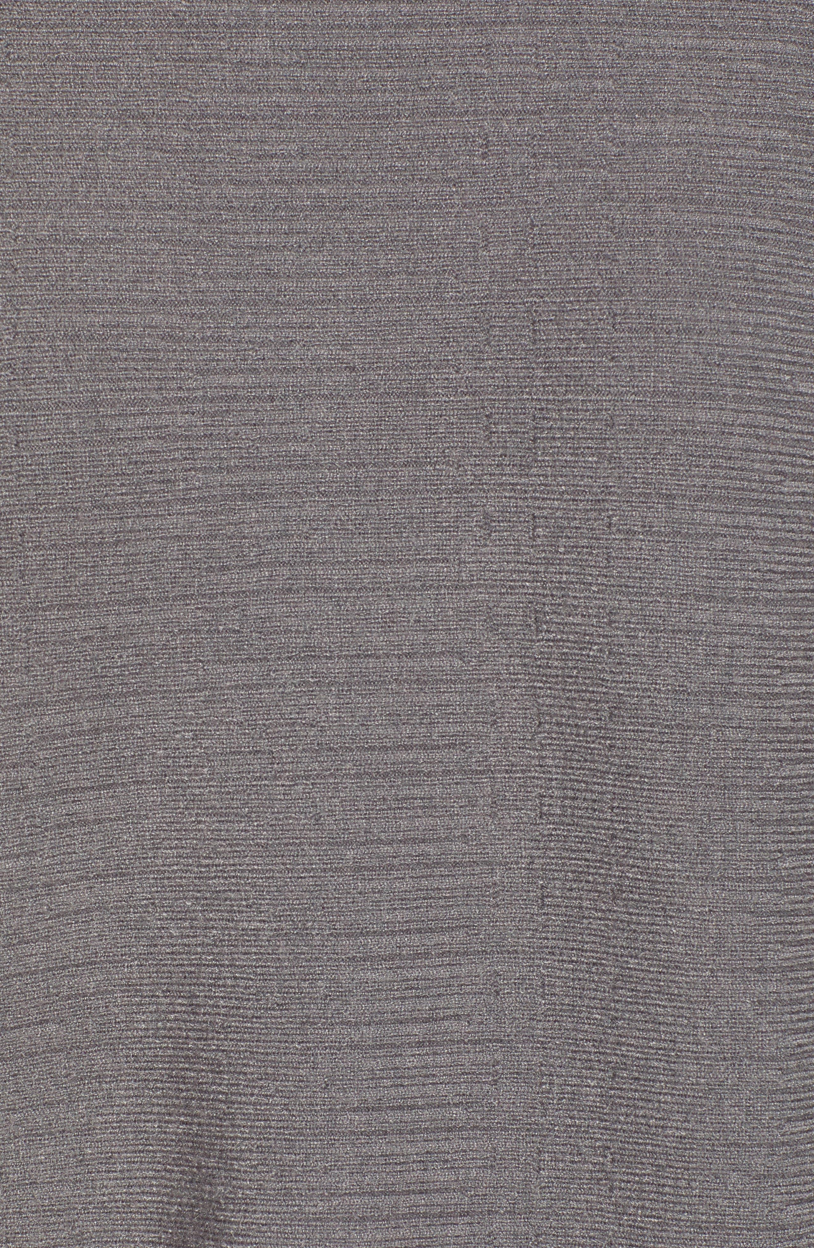 Dolman Boat Neck Sweater,                             Alternate thumbnail 5, color,                             STEEL GRAY