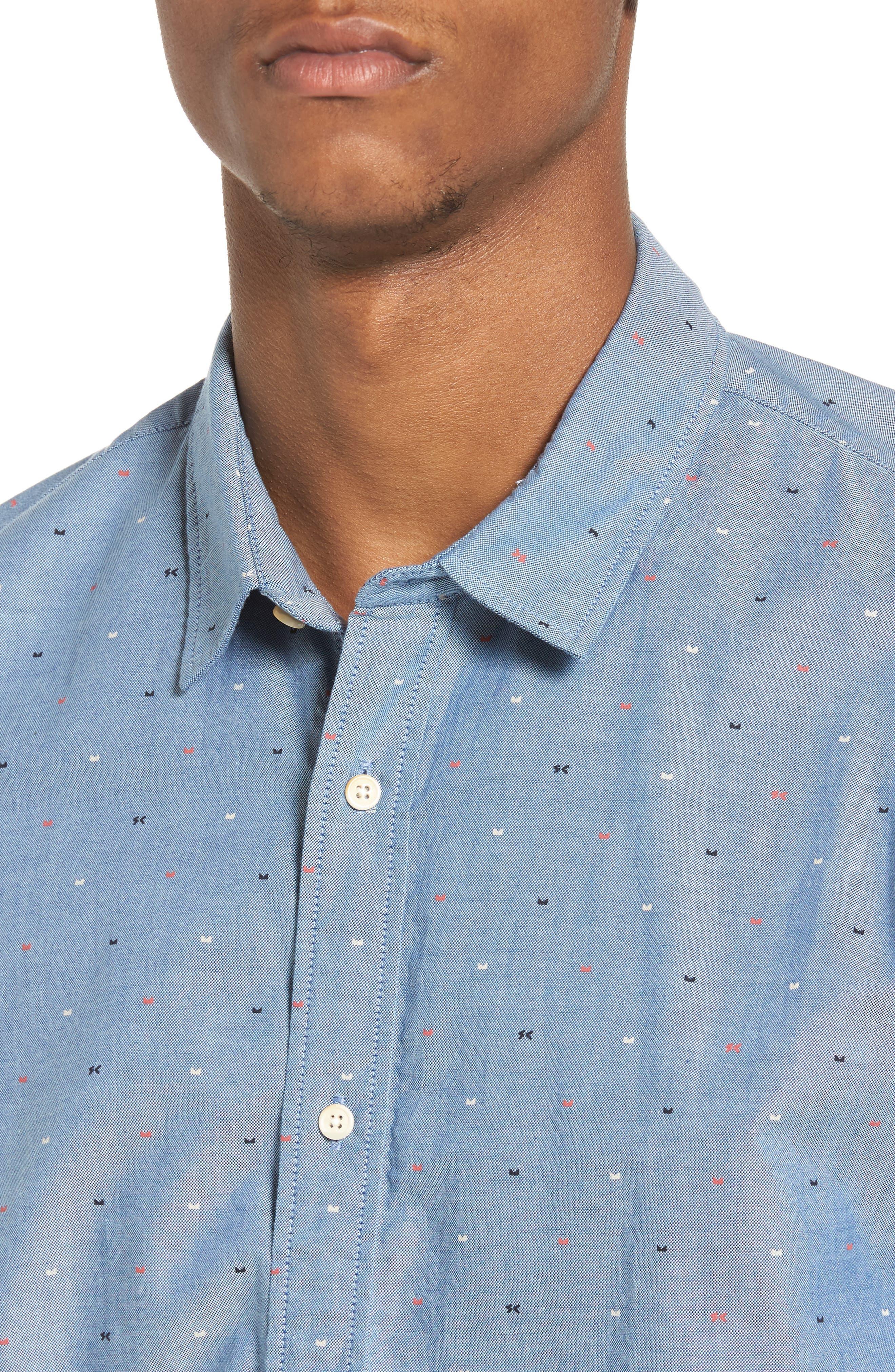 Classic Oxford Shirt,                             Alternate thumbnail 4, color,