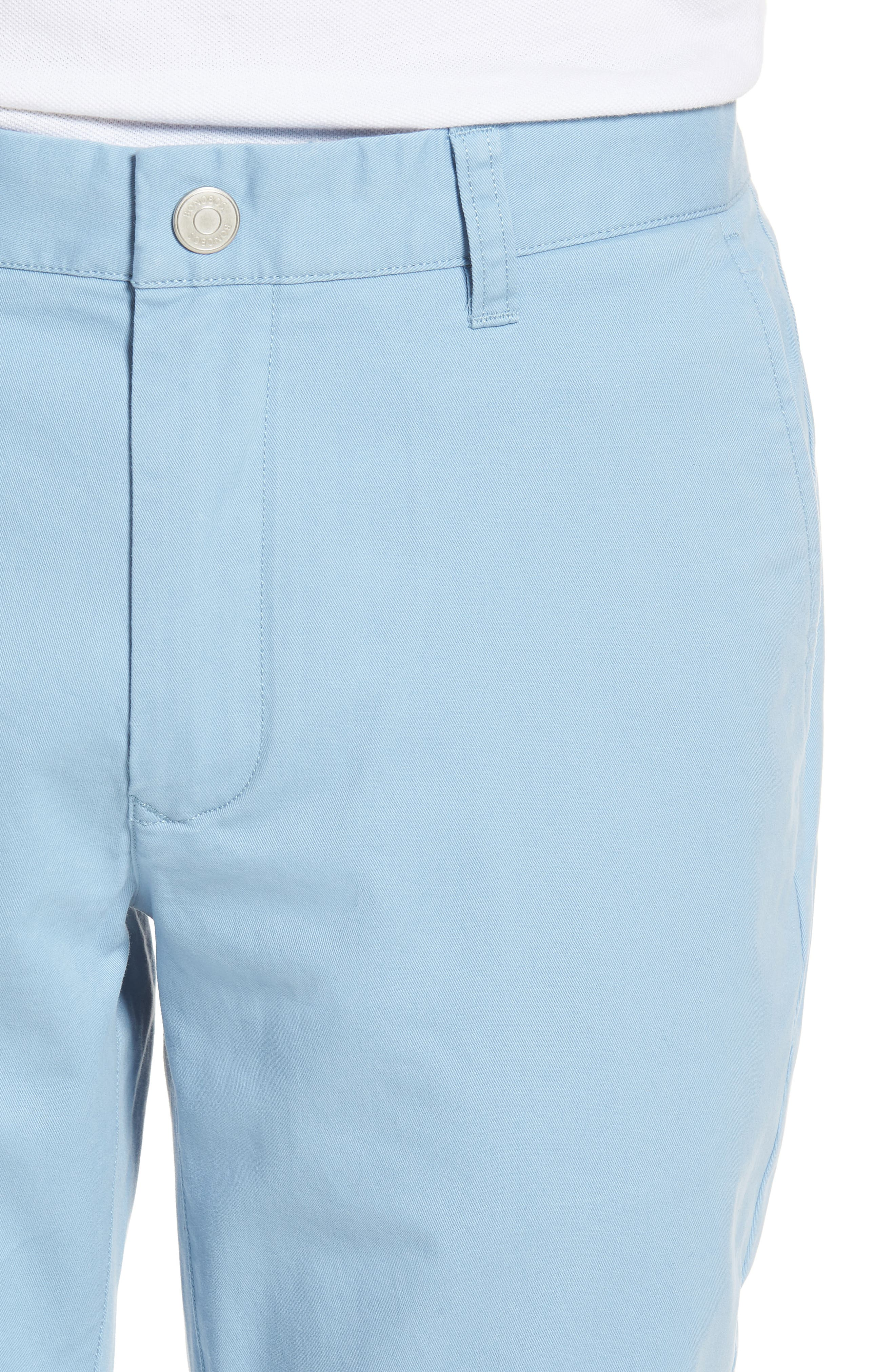 Tailored Fit Washed Stretch Cotton Chinos,                             Alternate thumbnail 117, color,