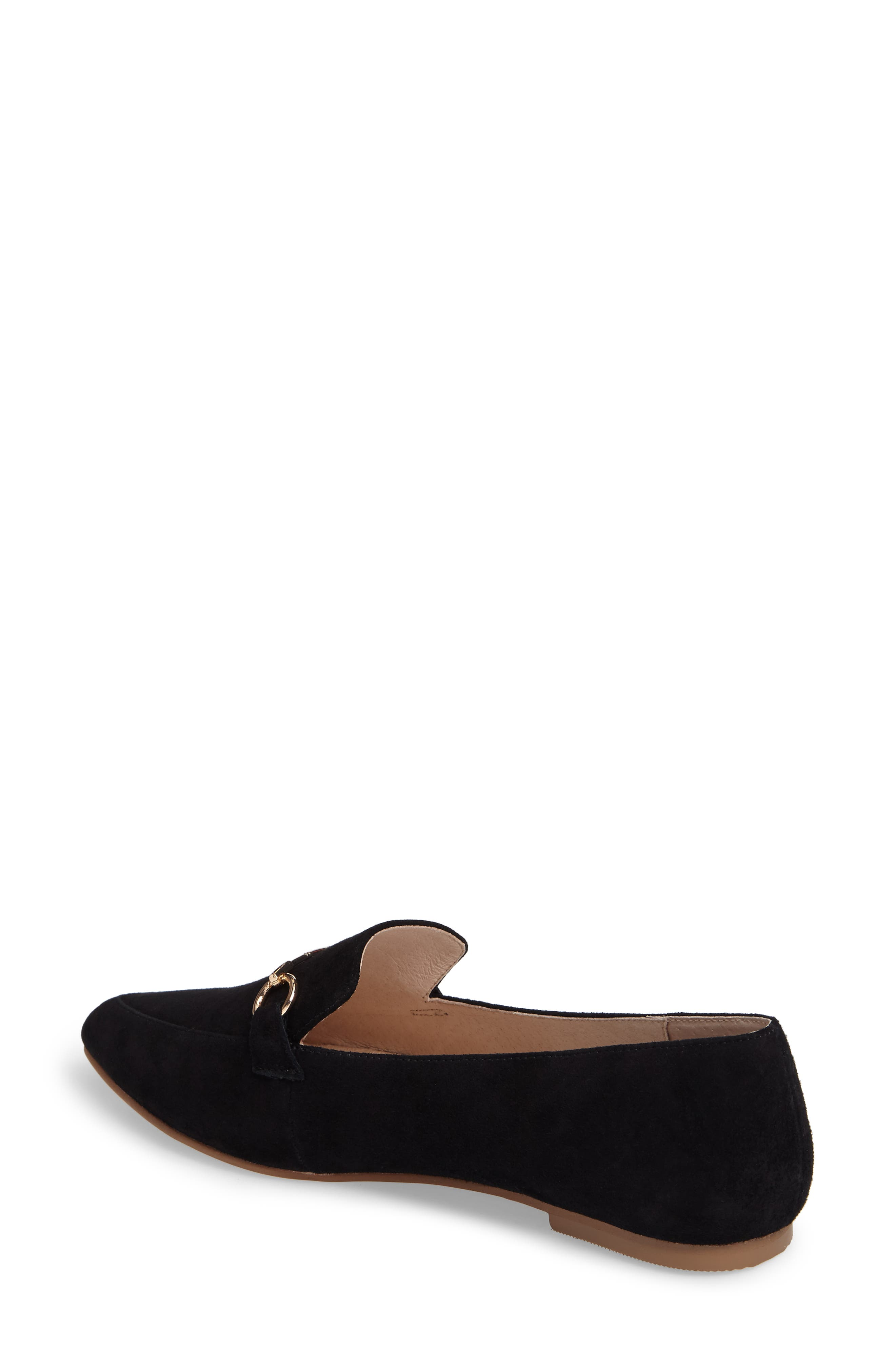 Cambrie Loafer Flat,                             Alternate thumbnail 2, color,                             001