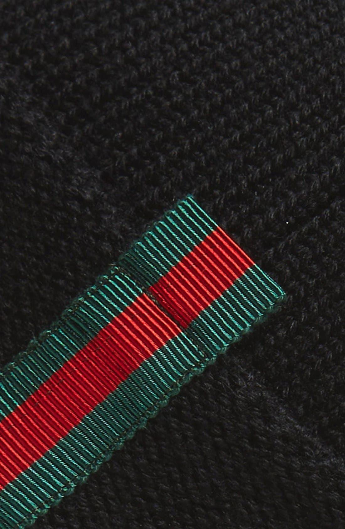 Wool Beanie,                             Alternate thumbnail 2, color,                             001