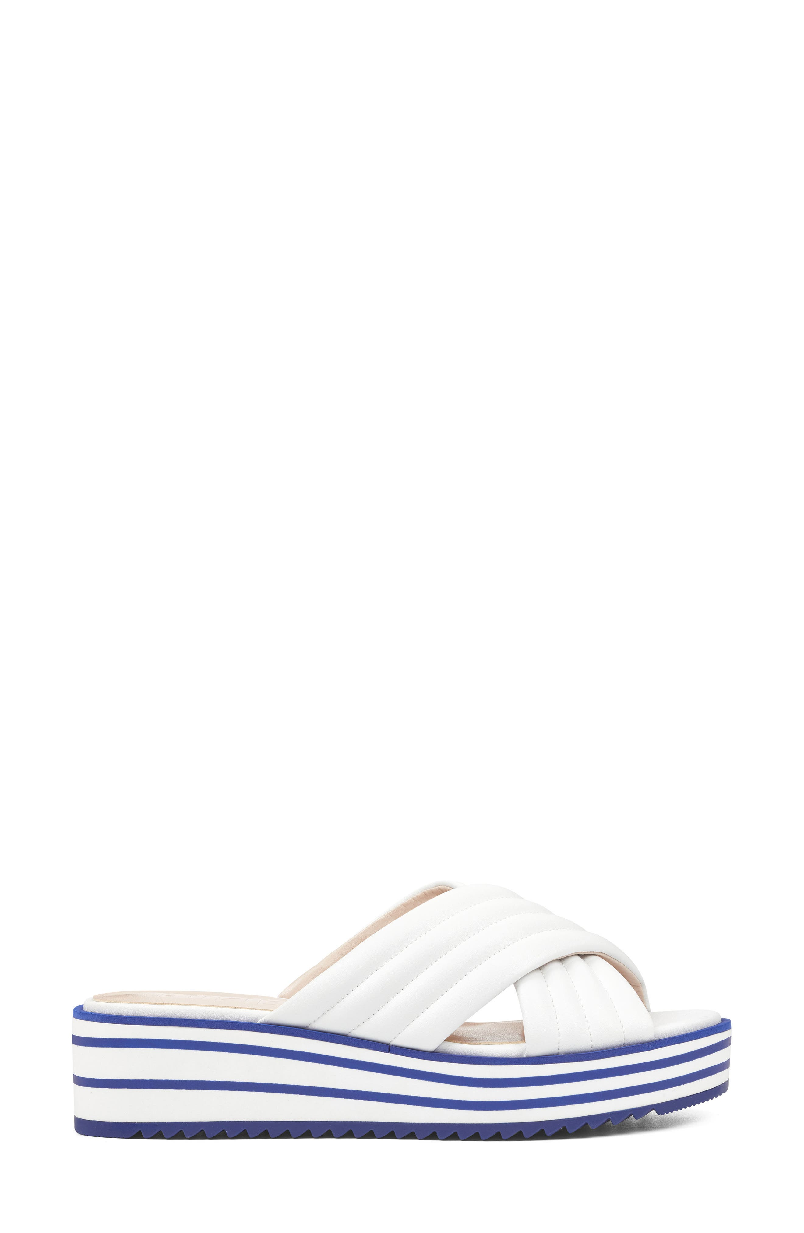 Zonita Platform Slide Sandal,                             Alternate thumbnail 9, color,