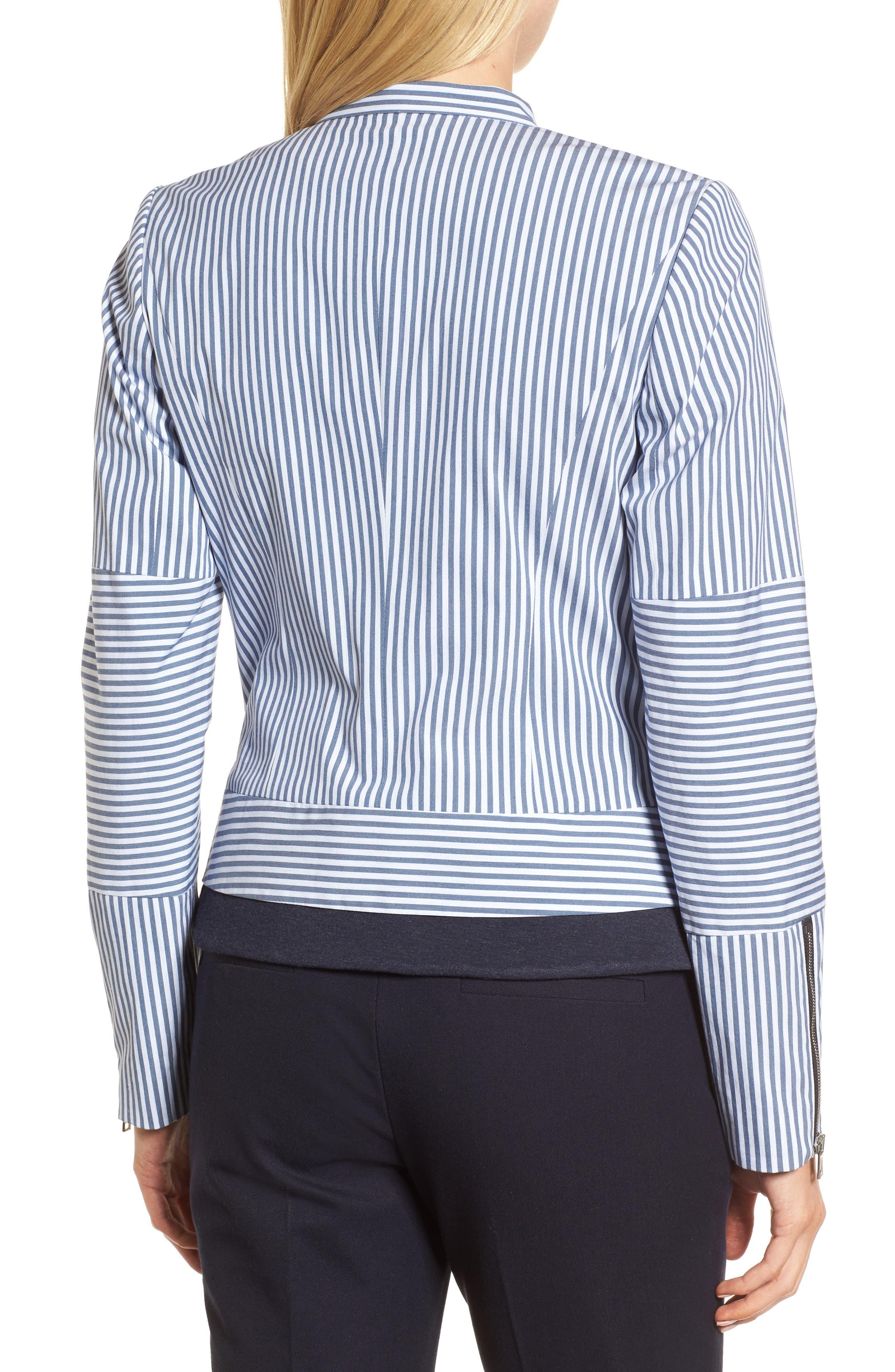 Stripe Jacket,                             Alternate thumbnail 2, color,                             410