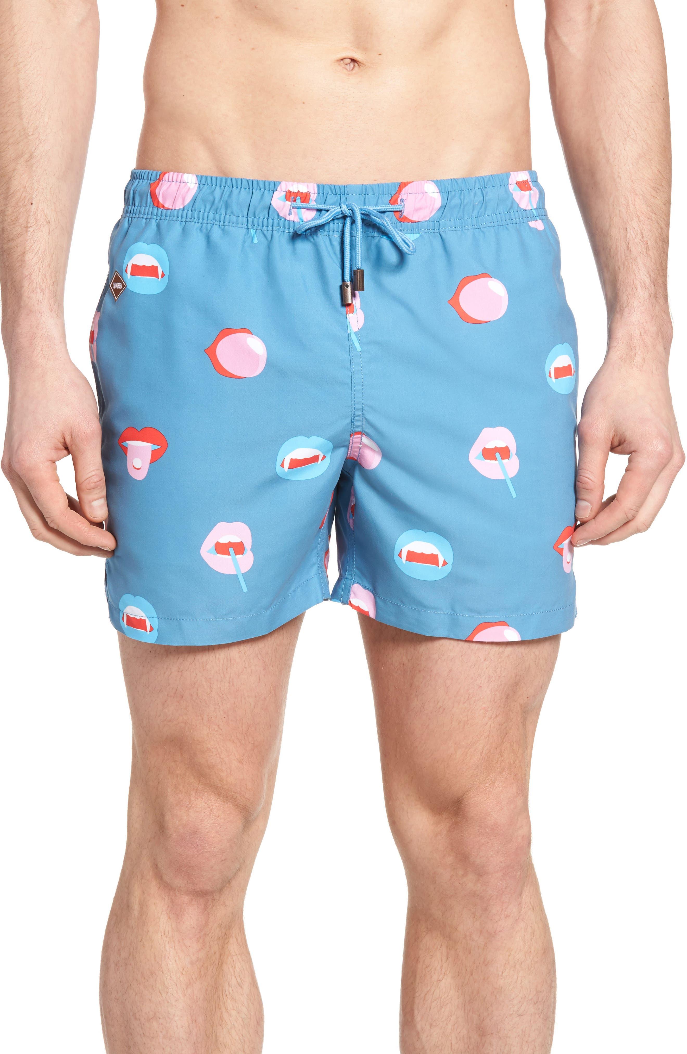Bigmouth Swim Trunks,                         Main,                         color,