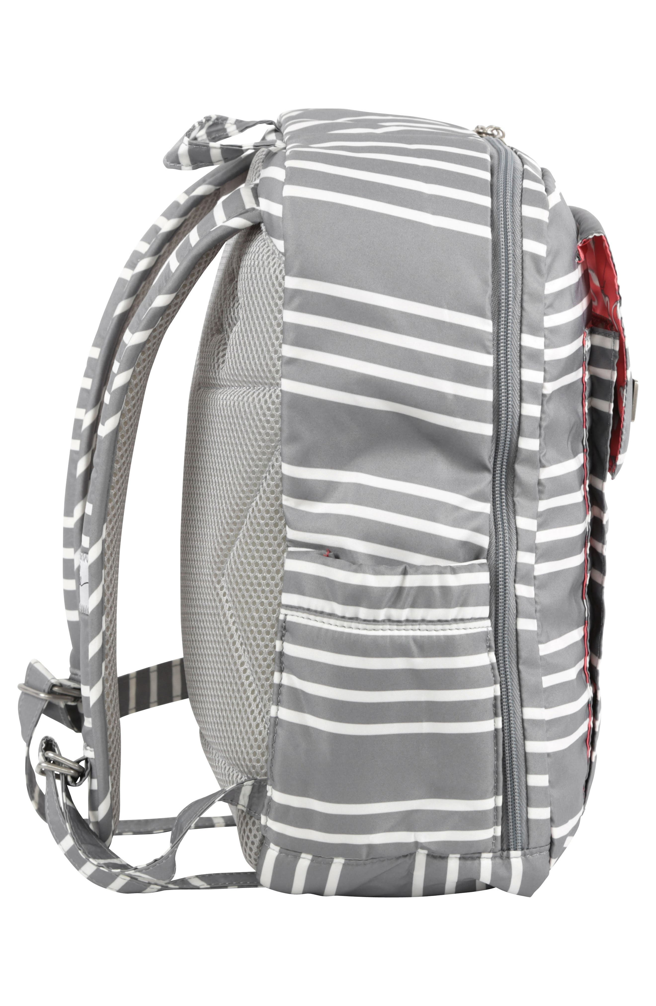 Mini Be - Coastal Collection Diaper Backpack,                             Alternate thumbnail 4, color,                             042