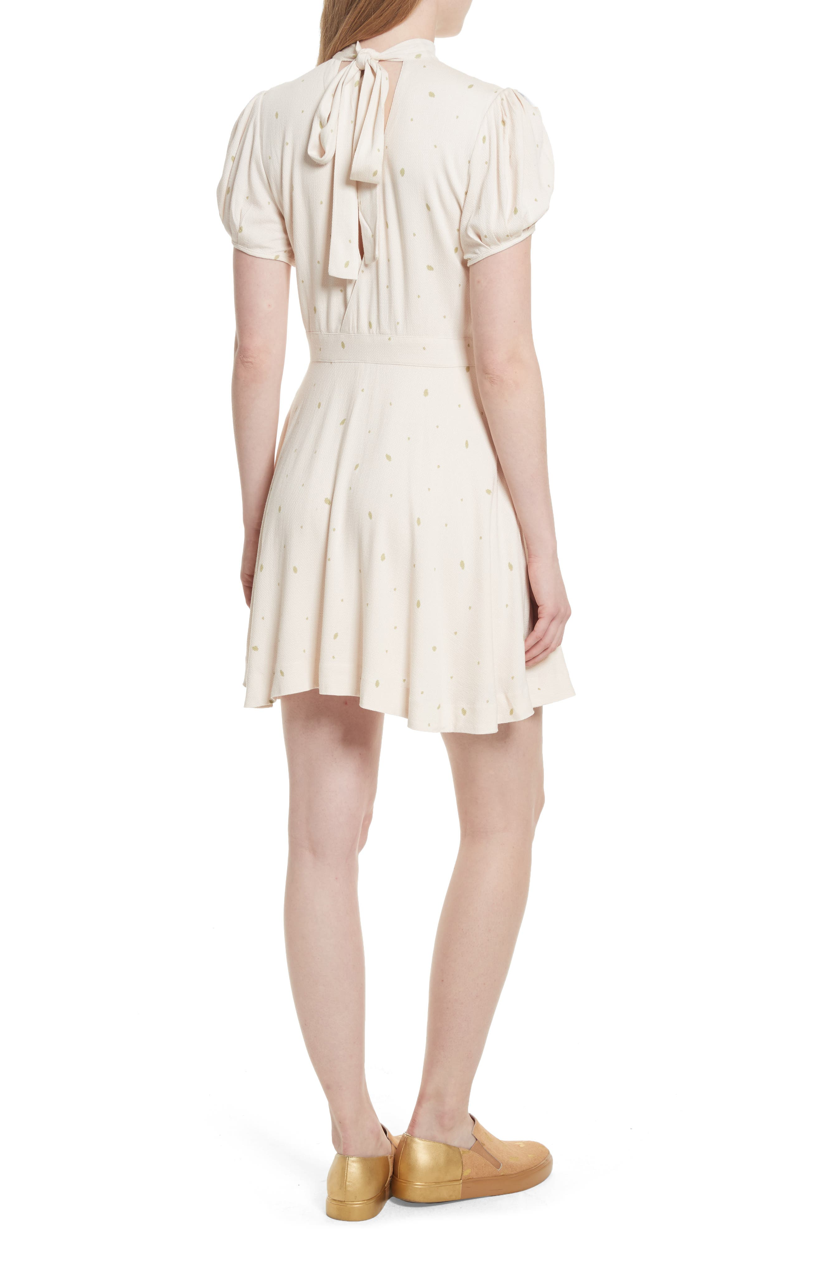 Abbie Fit & Flare Dress,                             Alternate thumbnail 2, color,                             903