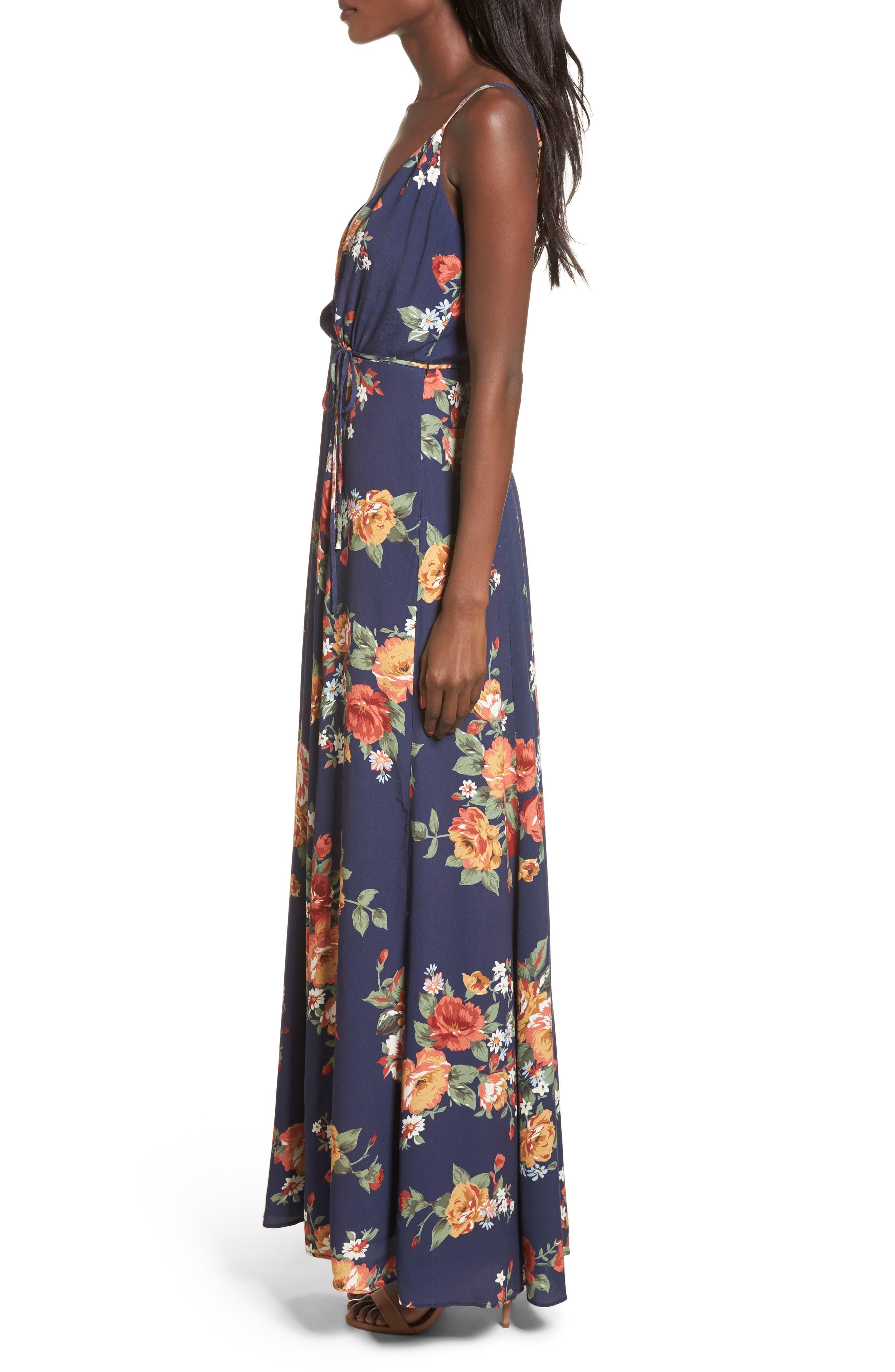 Crenshaw Maxi Dress,                             Alternate thumbnail 3, color,                             400
