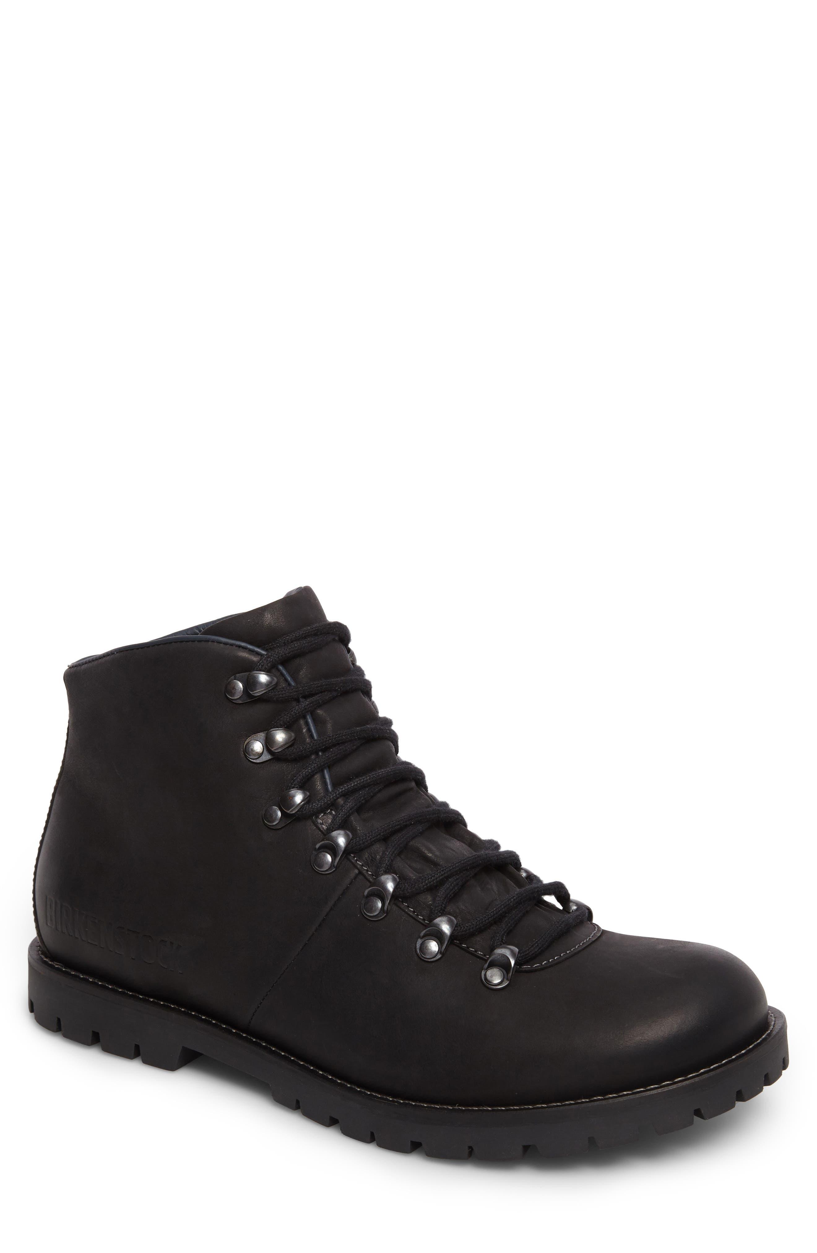 Hancock Plain Toe Boot,                         Main,                         color, BLACK