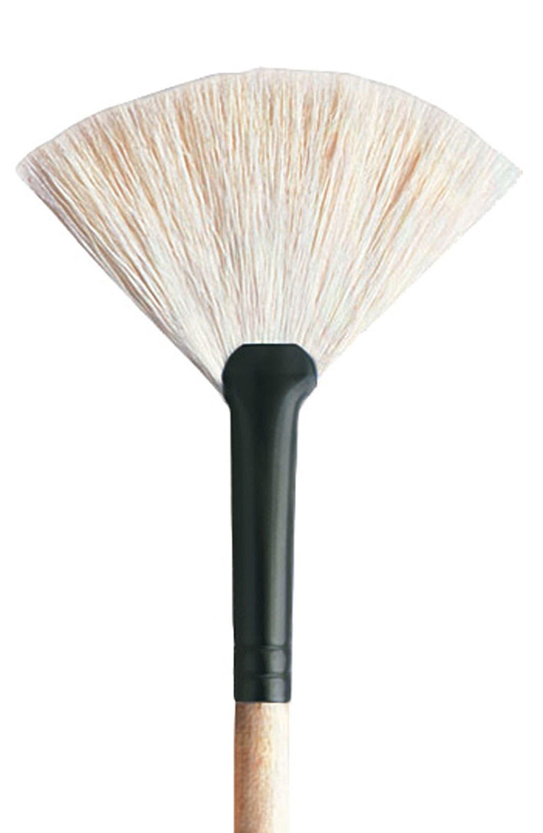 White Fan Brush,                             Alternate thumbnail 2, color,                             000
