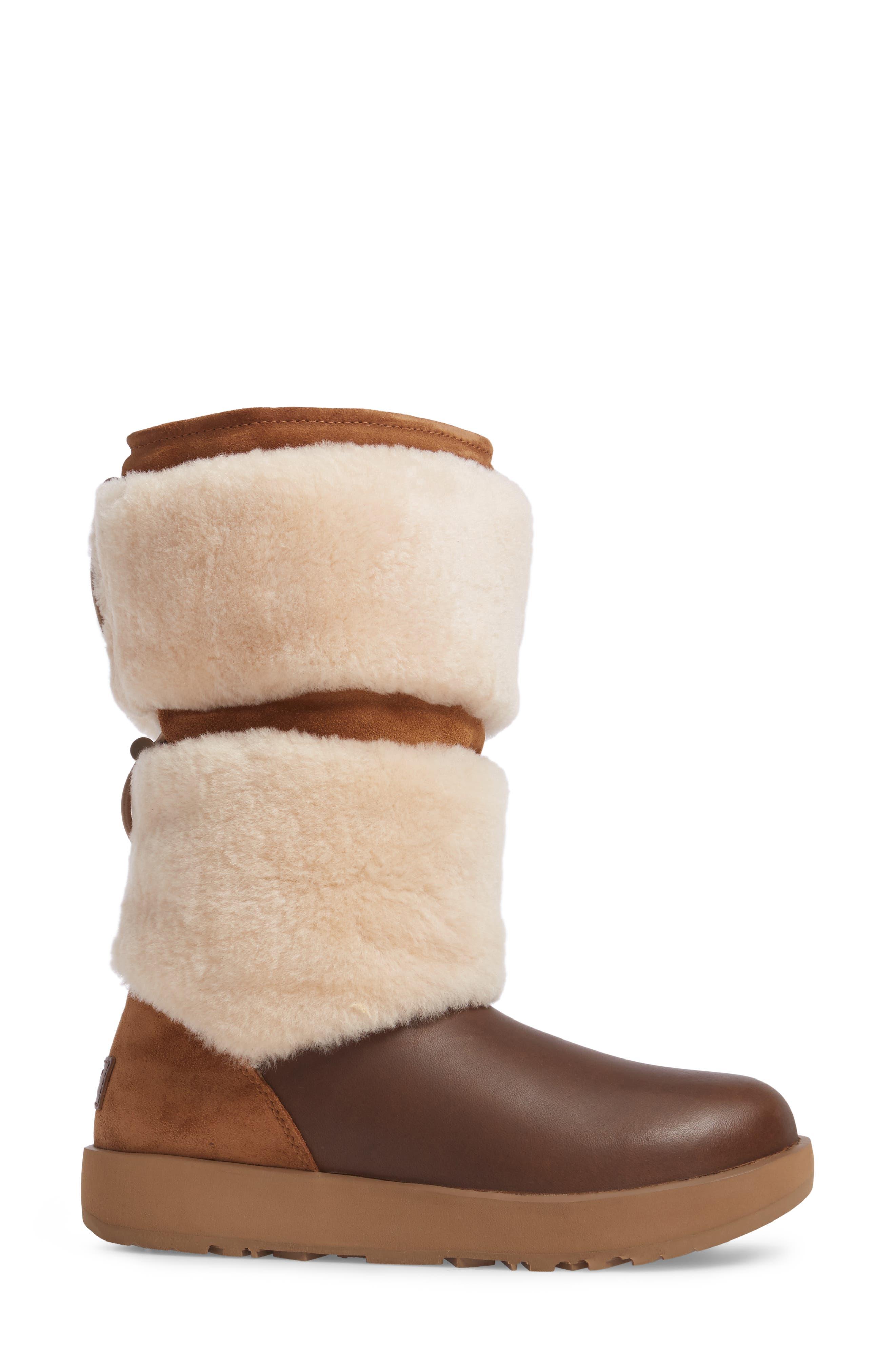 Reykir Waterproof Snow Boot,                             Alternate thumbnail 9, color,