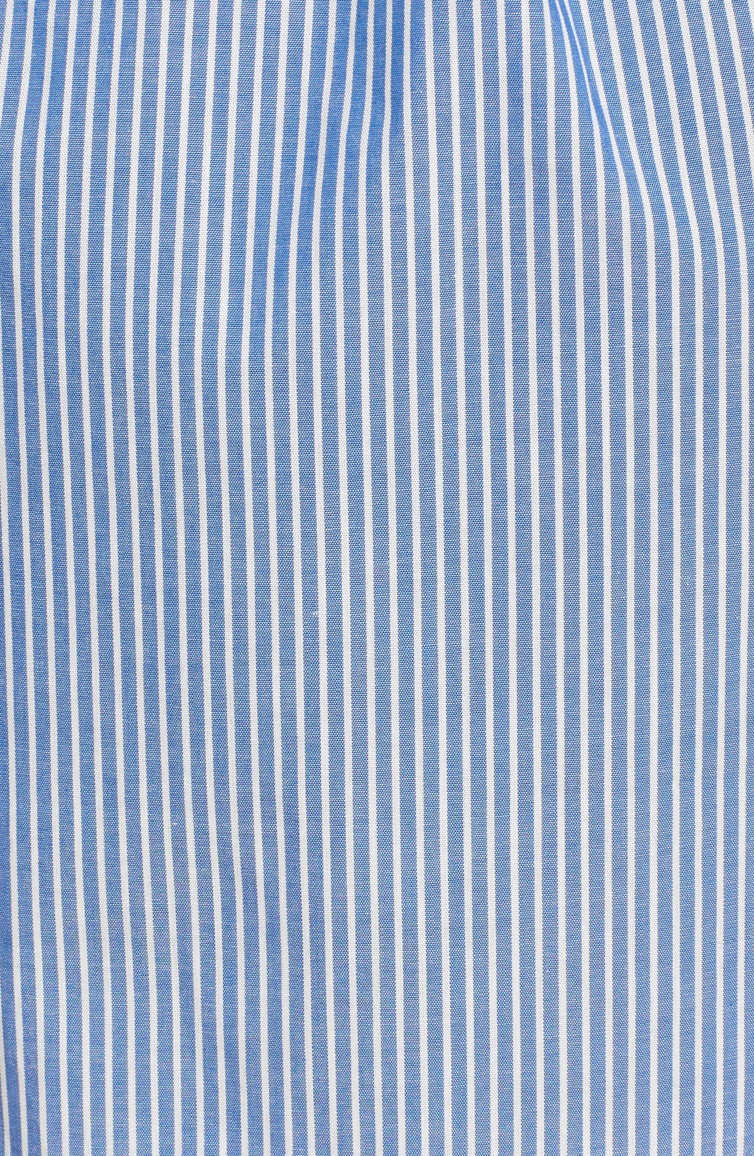 Cotton Poplin Wrap Dress,                             Alternate thumbnail 10, color,