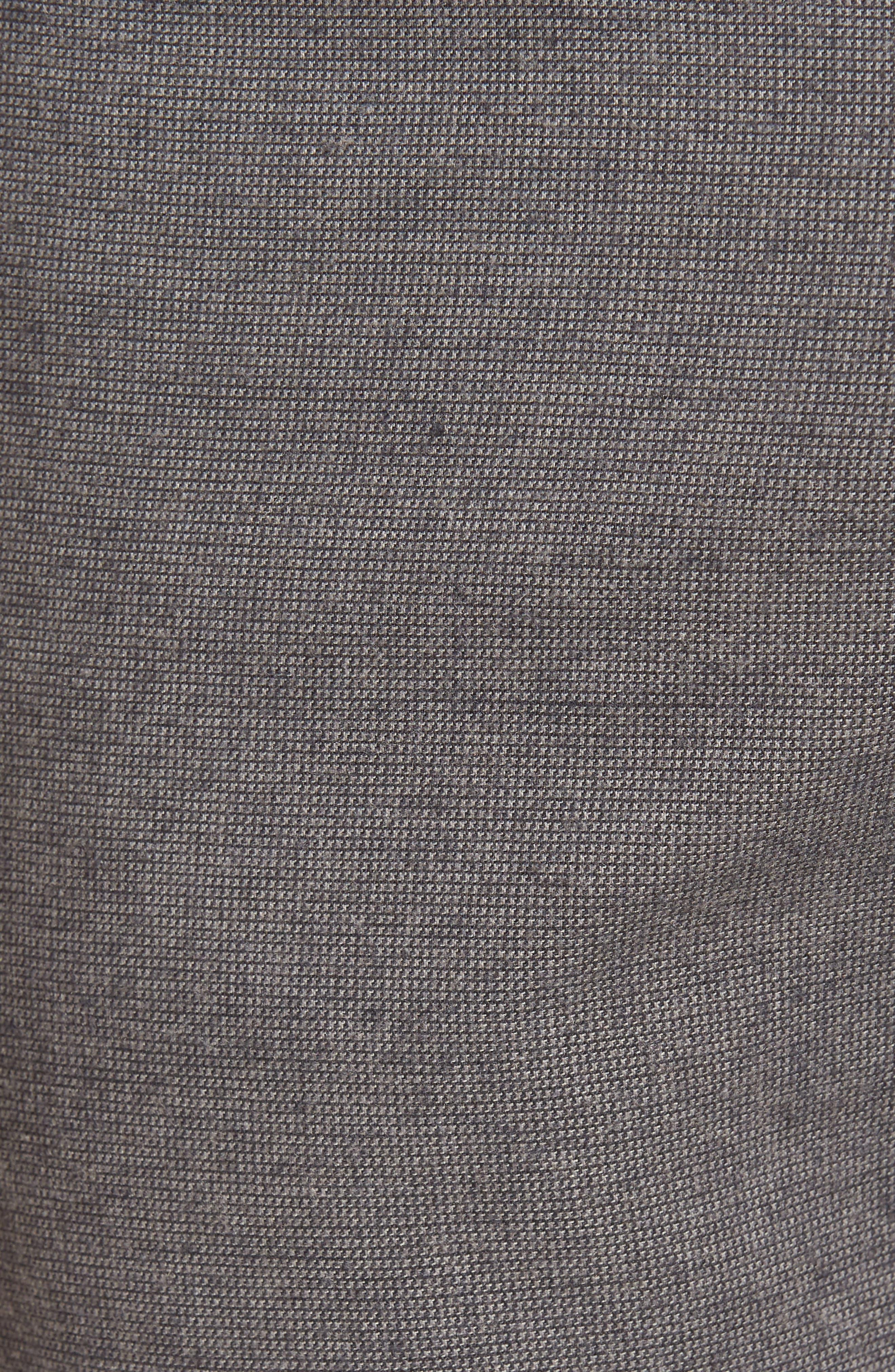 Five-Pocket Stretch Cotton Trousers,                             Alternate thumbnail 23, color,