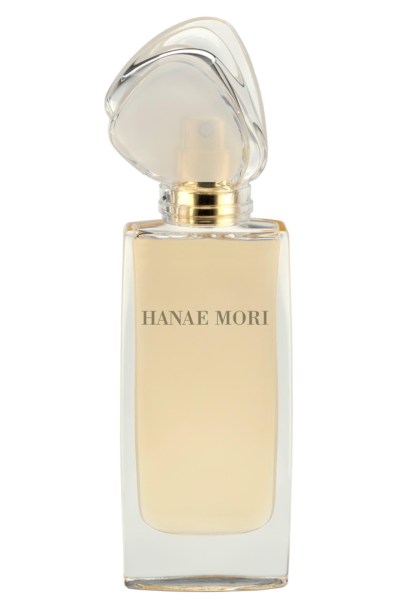 HANAE MORI,                             Paris 'Butterfly' Eau de Parfum,                             Main thumbnail 1, color,                             NO COLOR