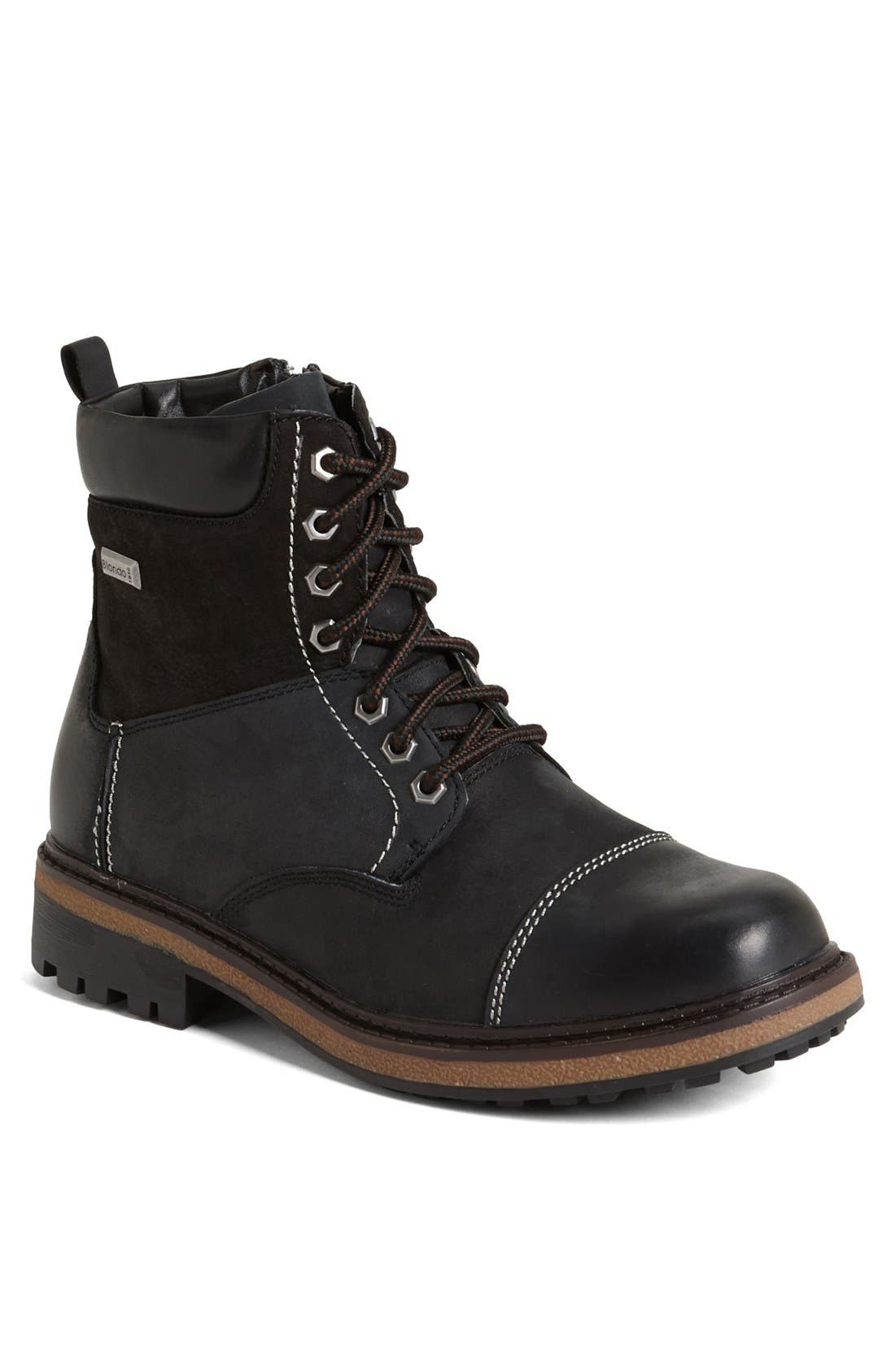 'Jaro' Waterproof Boot,                         Main,                         color, BLACK