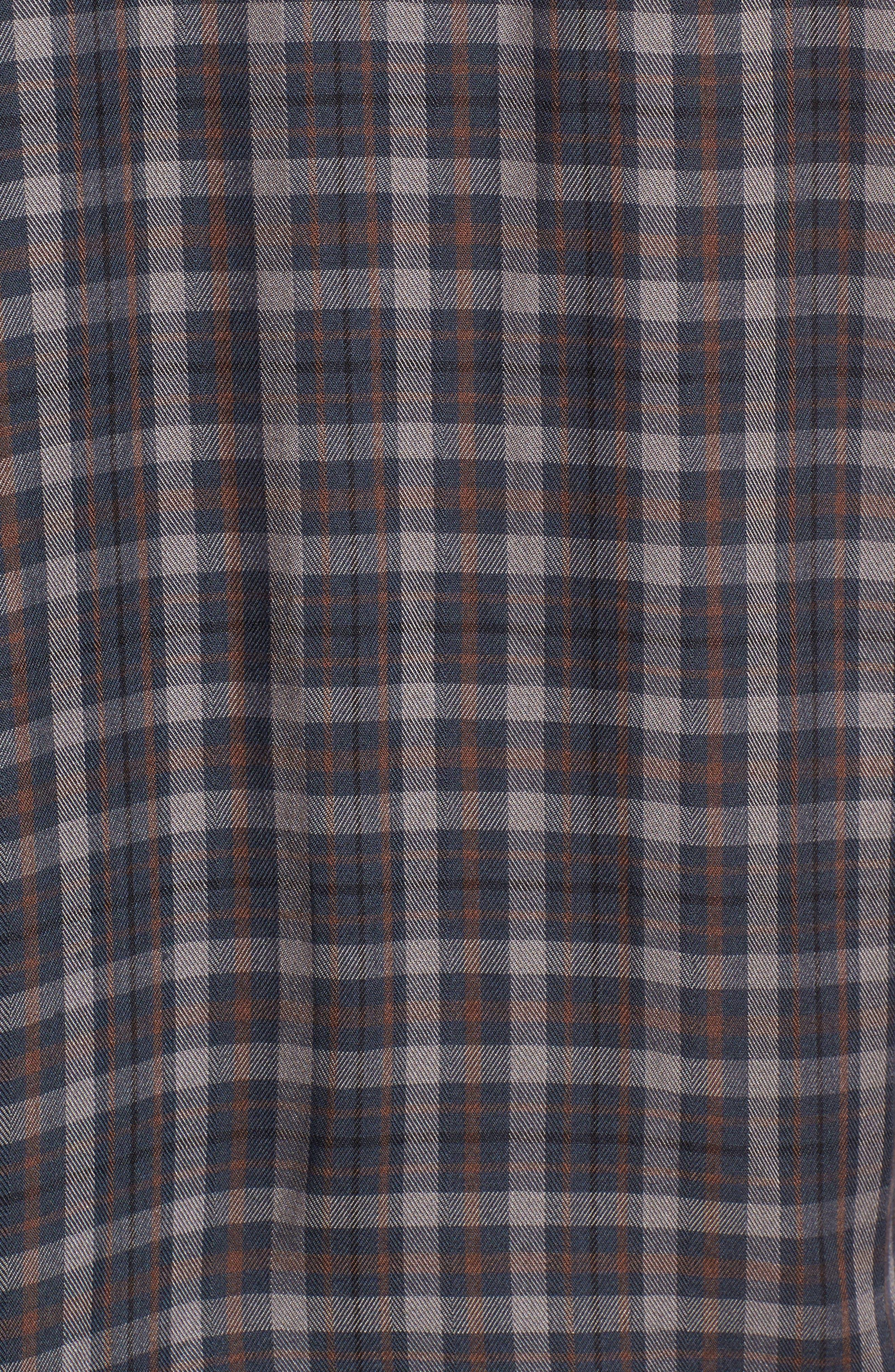 Puff Sleeve Boyfriend Shirt,                             Alternate thumbnail 5, color,                             400
