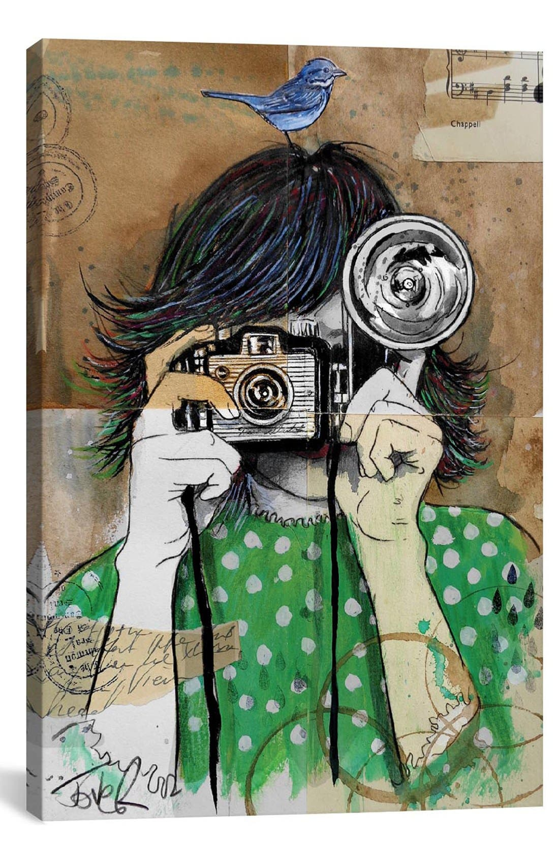 'Little Moments' Giclée Print Canvas Art,                             Main thumbnail 1, color,                             300