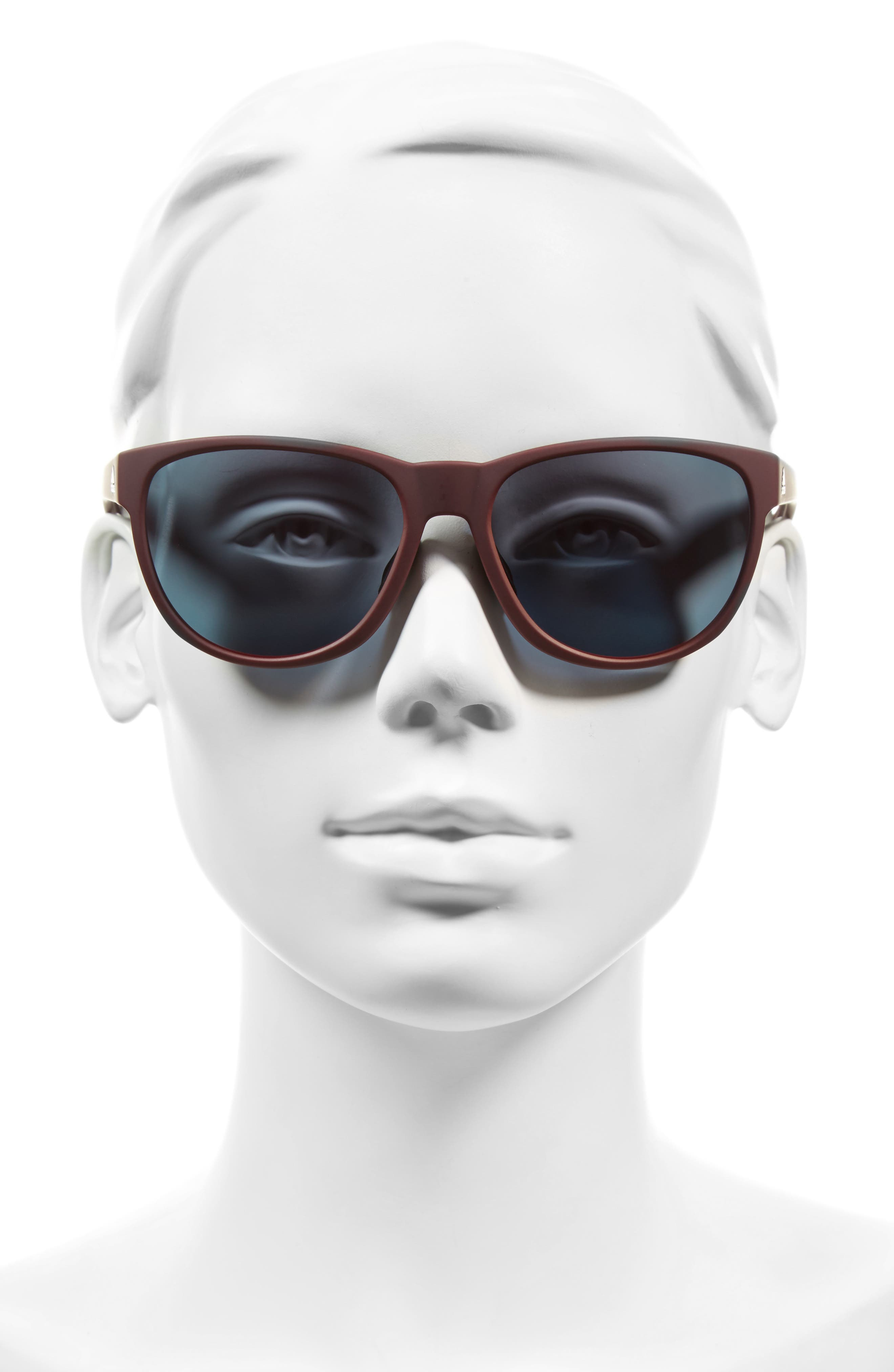 Wildcharge 61mm Mirrored Sunglasses,                             Alternate thumbnail 4, color,